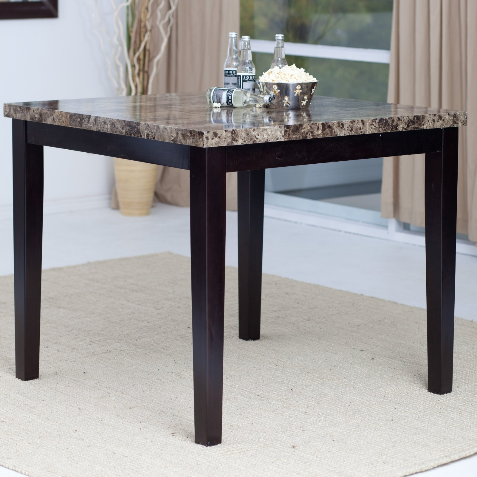 Palazzo Counter Height Dining Table – Walmart In Newest Palazzo Rectangle Dining Tables (View 2 of 20)