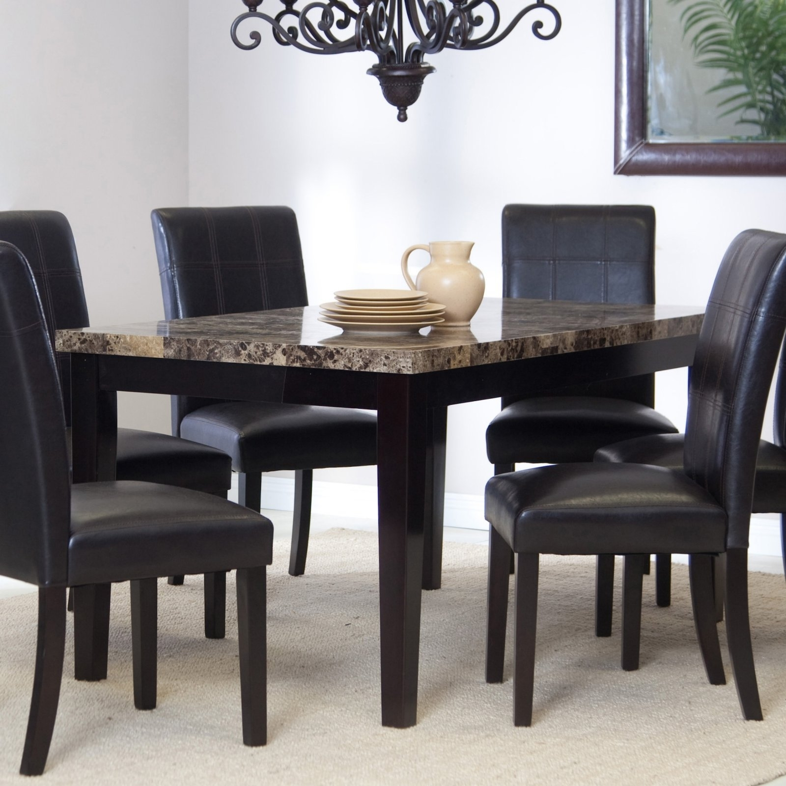 Palazzo Dining Table – Walmart Pertaining To Most Up To Date Palazzo 3 Piece Dining Table Sets (Image 16 of 20)