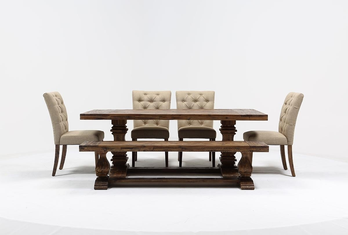 Partridge 6 Piece Dining Set | Living Spaces Regarding 2017 Partridge Dining Tables (View 7 of 20)