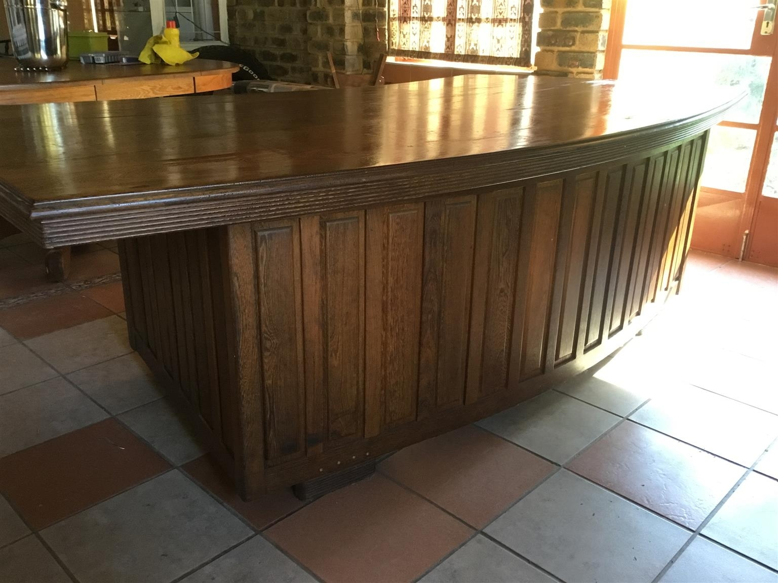 Partridge Wood Desk | Junk Mail Throughout 2018 Partridge 6 Piece Dining Sets (Image 17 of 20)