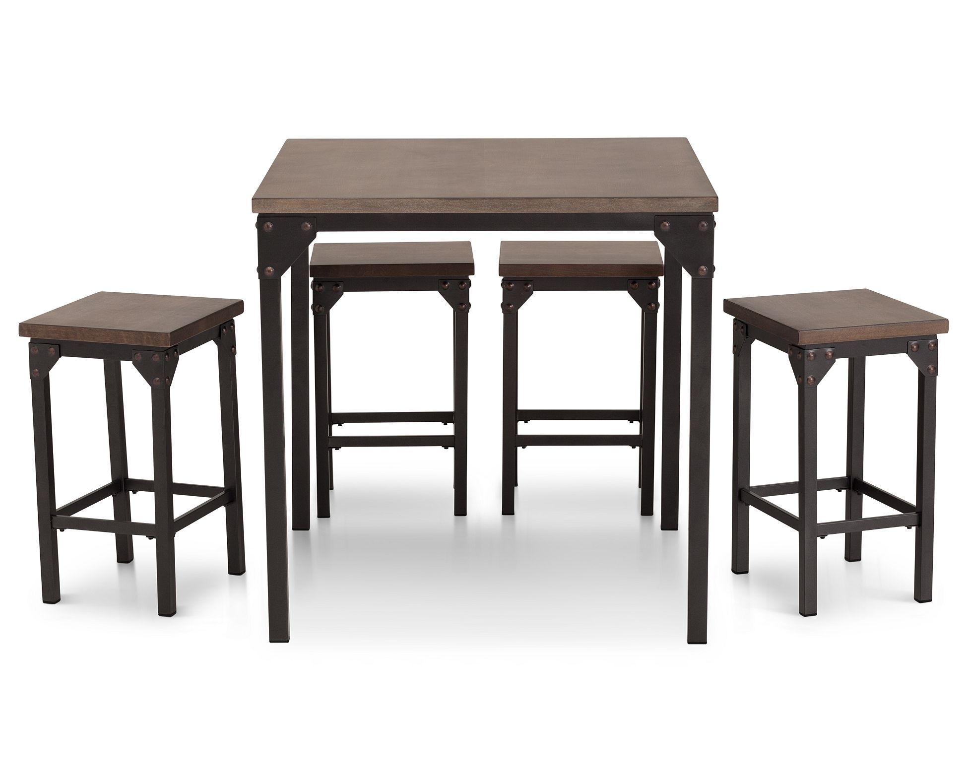Pierce 5 Pc. Counter Height Dining Room Set | Dining Rooms Pertaining To Most Popular Pierce 5 Piece Counter Sets (Photo 8 of 20)