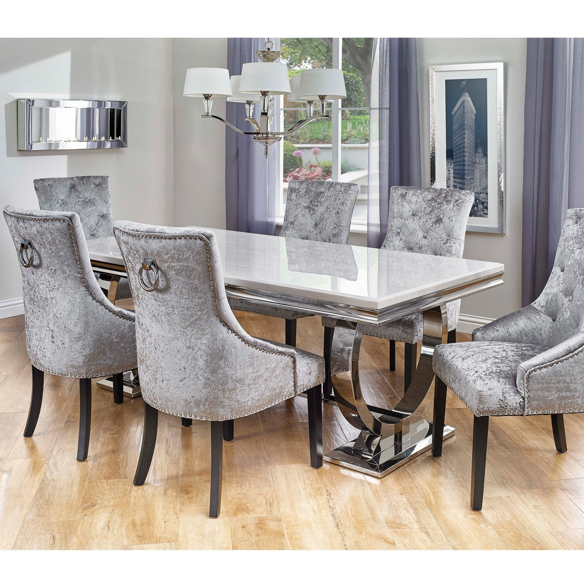 Pinbesthomezone On Dining Room & Bar Furniture | Pinterest For Newest Palazzo 7 Piece Rectangle Dining Sets With Joss Side Chairs (Photo 6 of 20)