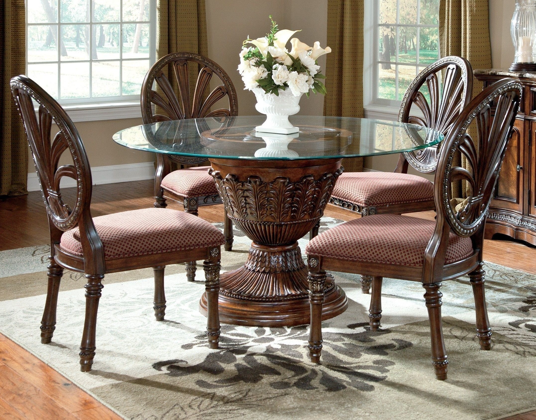 Pingood Furniture On Table Furniture | Pinterest | Dining With Regard To Newest Market 7 Piece Dining Sets With Host And Side Chairs (View 13 of 20)