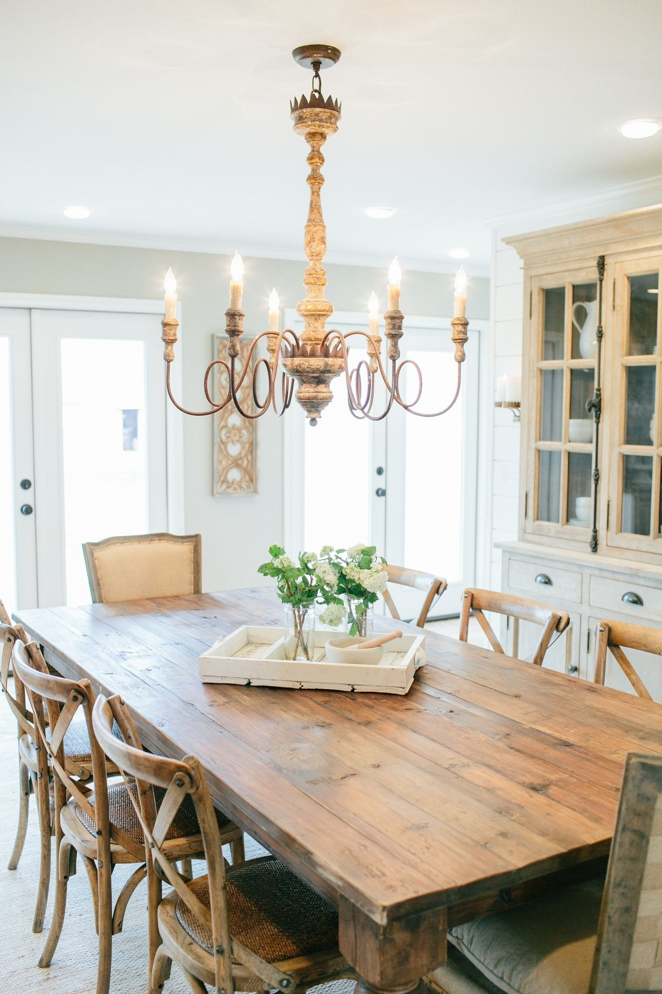 Pinsarah Mull On After Fire House | Pinterest | Dining Room For 2018 Magnolia Home Array Dining Tables By Joanna Gaines (Image 17 of 20)