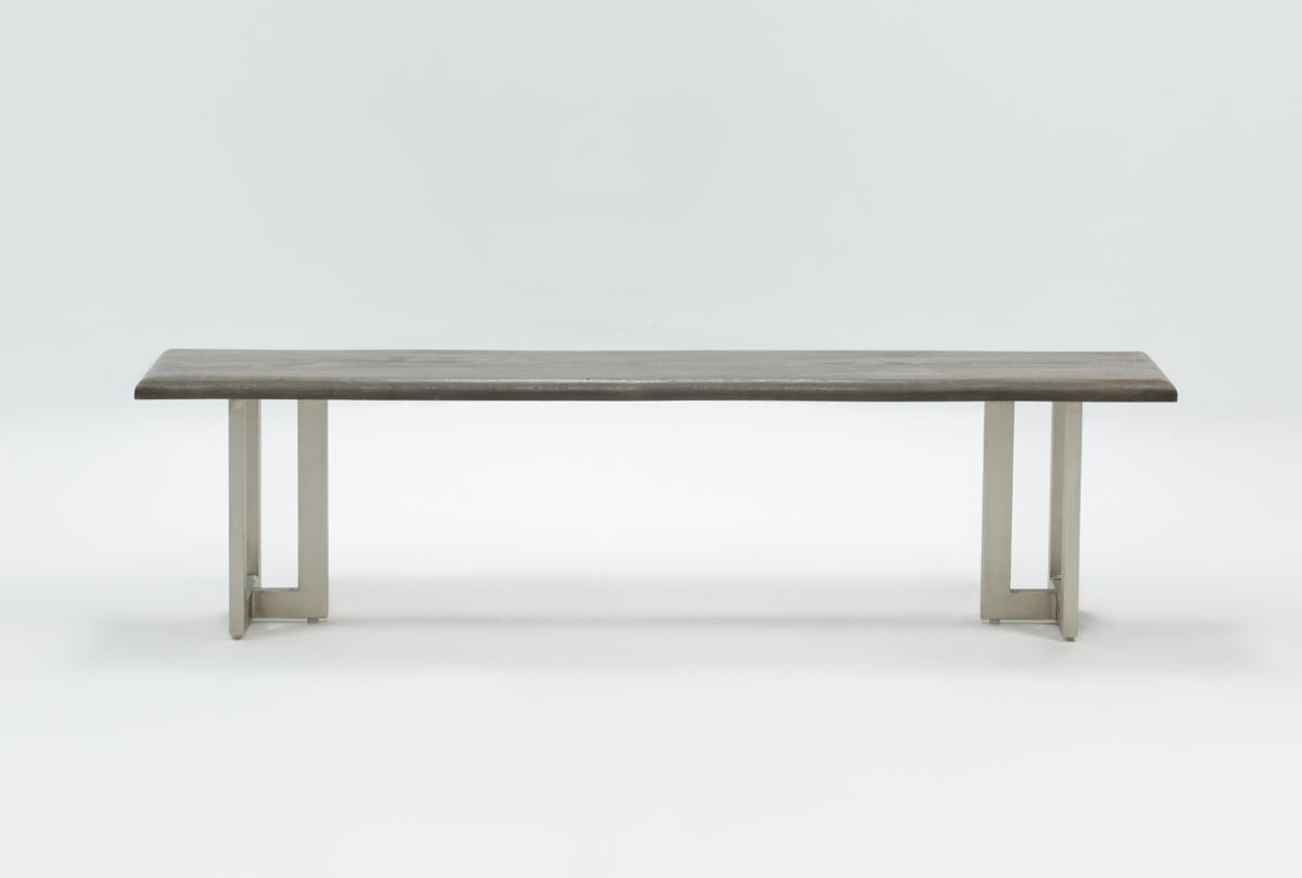 Portland Dining Bench | Living Spaces For Latest Portland 78 Inch Dining Tables (Image 14 of 20)