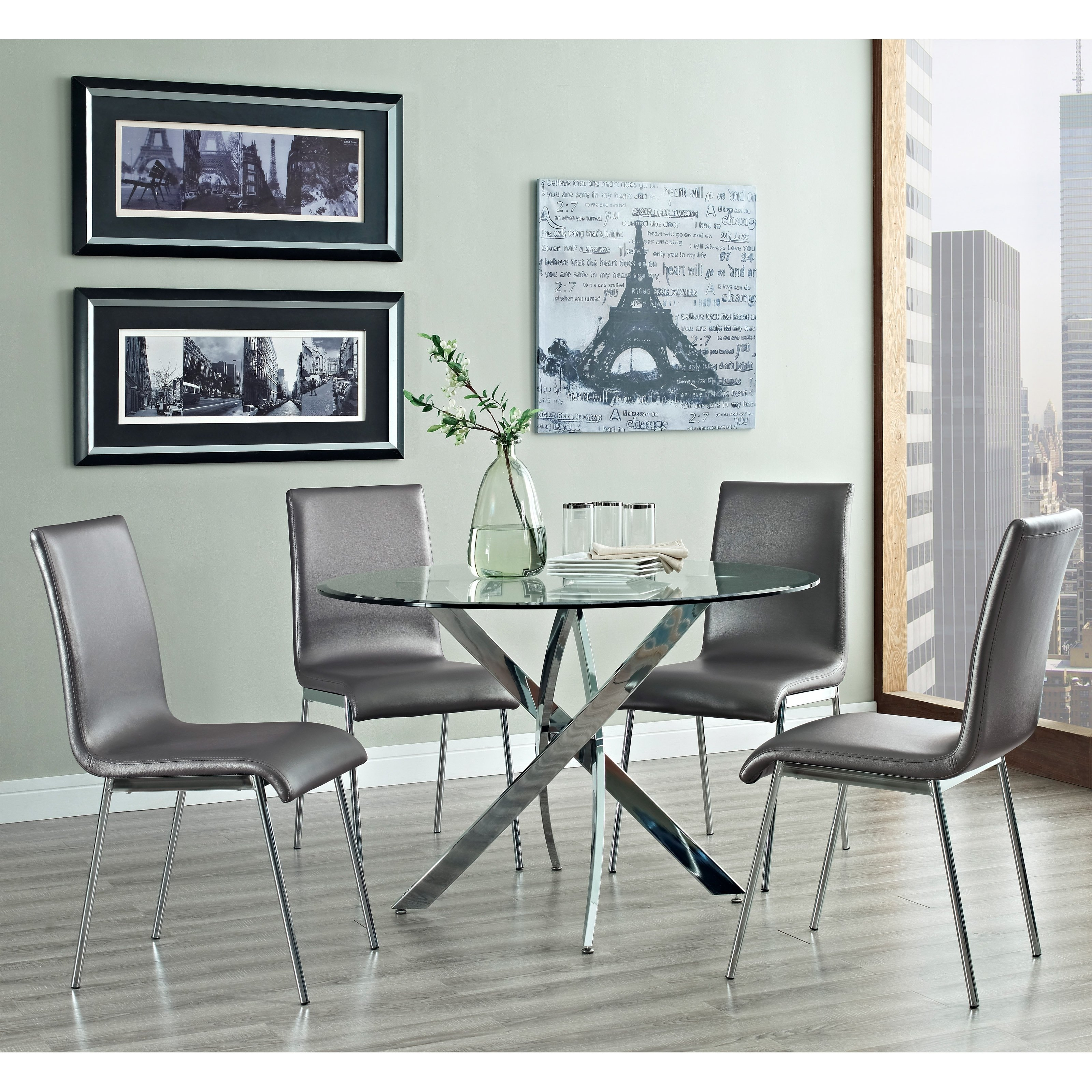 Powell Caden Dining Table – Walmart Inside Current Caden 5 Piece Round Dining Sets (Photo 20 of 20)