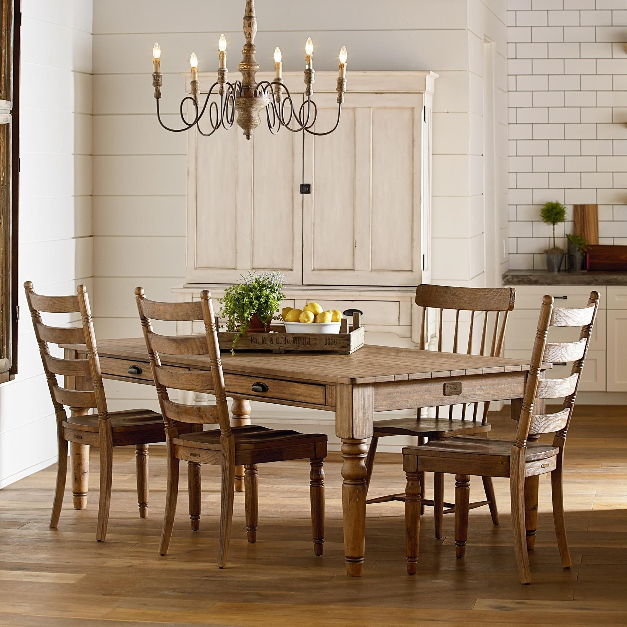 Primitive Dining Room Groupmagnolia Homejoanna Gaines | Wolf Throughout 2018 Magnolia Home Keeping Dining Tables (Image 17 of 20)