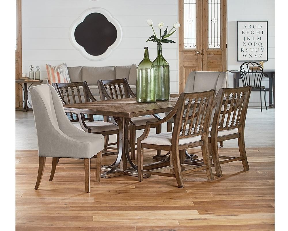 Product Brands Magnolia Home : Gamburgs Furniture Pertaining To Most Current Magnolia Home Keeping Dining Tables (Image 18 of 20)