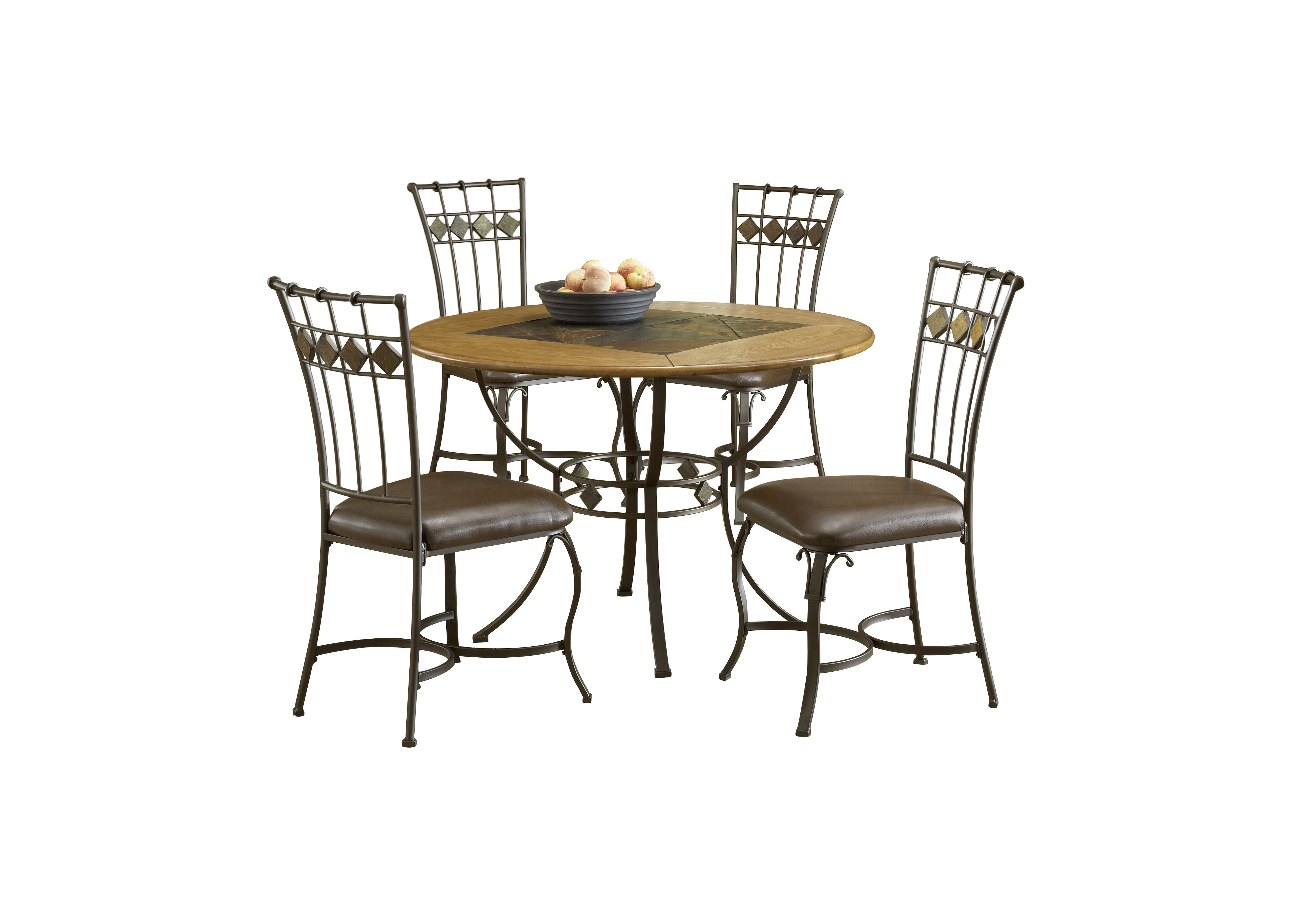 Red Barrel Studio Boyers 5 Piece Dining Set & Reviews | Wayfair Intended For Current Grady 5 Piece Round Dining Sets (Photo 5 of 20)