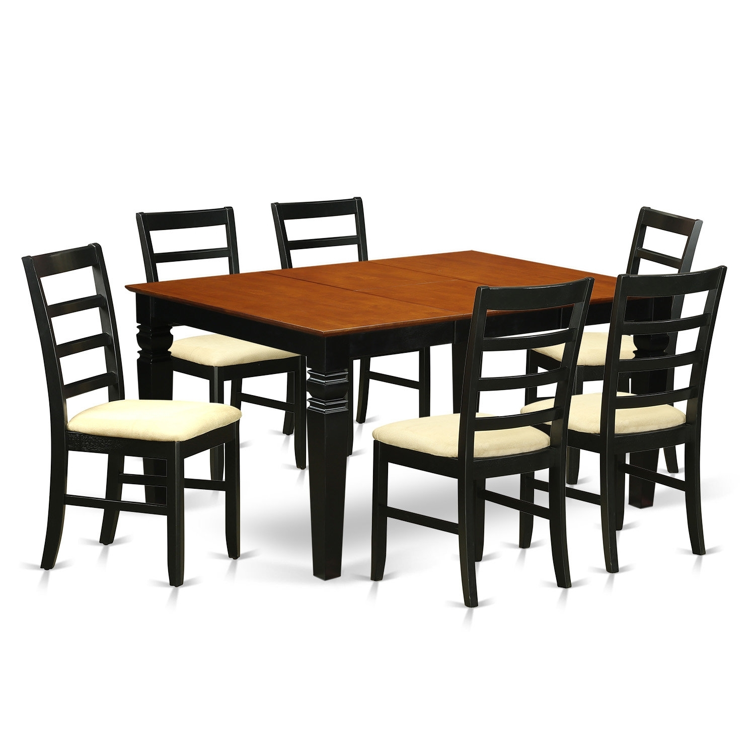 Red Barrel Studio Chandler 7 Piece Dining Set | Wayfair Regarding Latest Chandler Extension Dining Tables (Photo 13 of 20)
