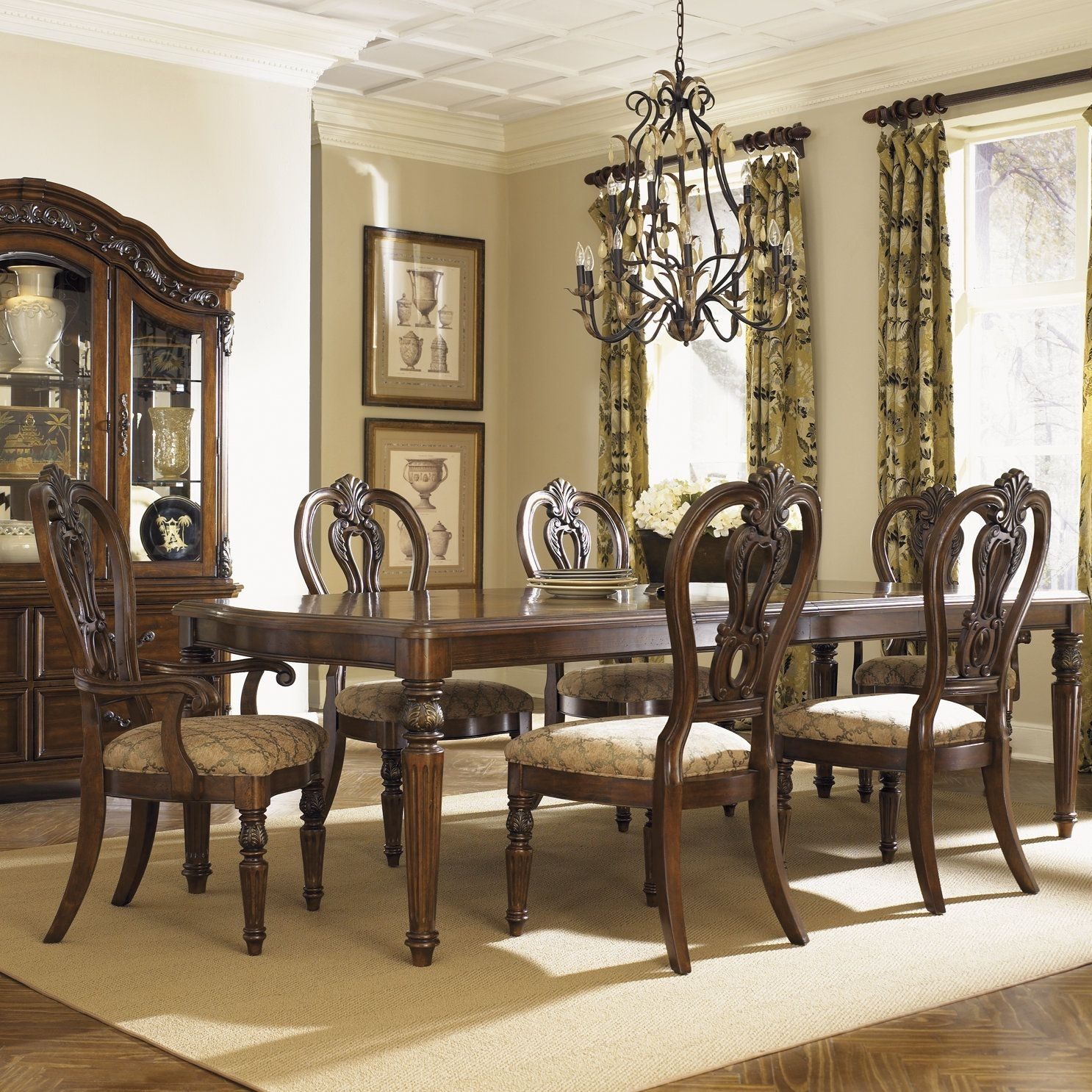 Regency Dining Table | Products | Pinterest | Products Throughout Most Recently Released Norwood 7 Piece Rectangle Extension Dining Sets (View 13 of 20)