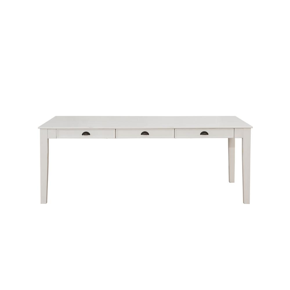 Renske Antique White Dining Table | Products | Pinterest Regarding Newest Magnolia Home White Keeping 96 Inch Dining Tables (Image 16 of 20)