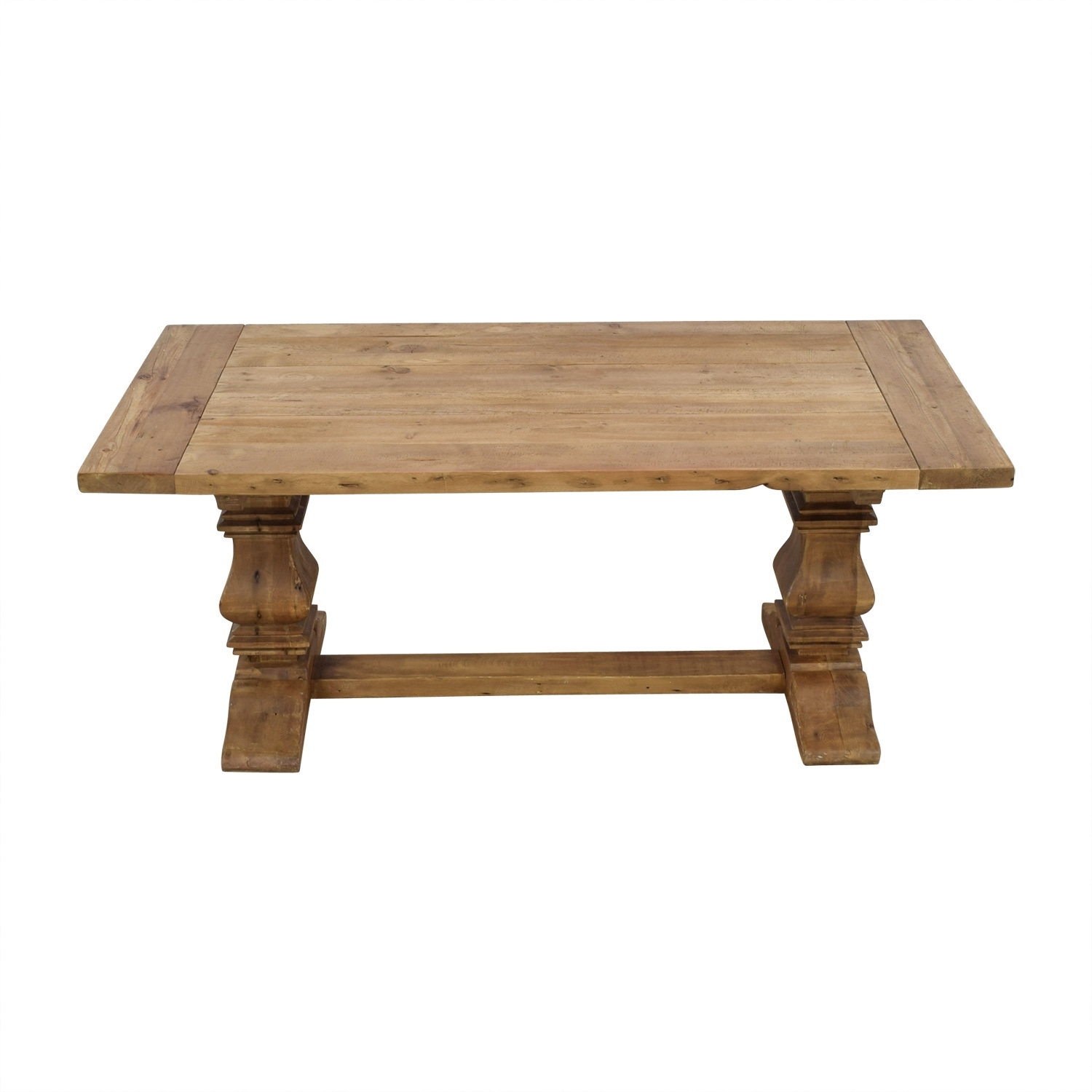 Restoration Hardware Fulton Desk Awesome Wooden Lazy Susan For Regarding Most Up To Date Caden Round Dining Tables (Image 15 of 20)