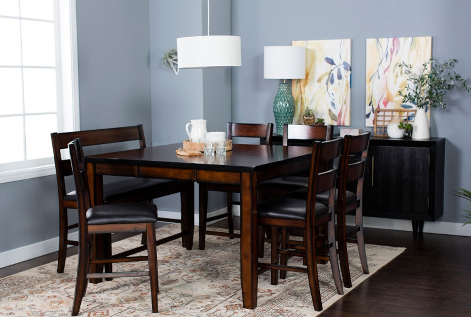Rocco 8 Piece Extension Counter Set | Home Is Where. (View 3 of 20)