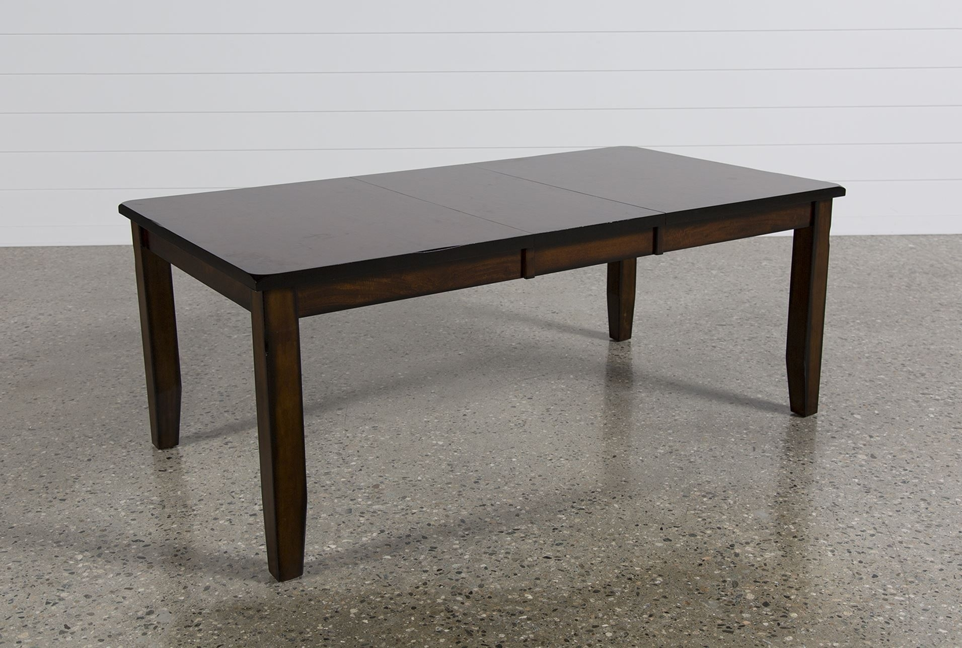 Rocco Extension Dining Table, Dark Espresso | Extensions Regarding Current Rocco Extension Dining Tables (Image 14 of 20)