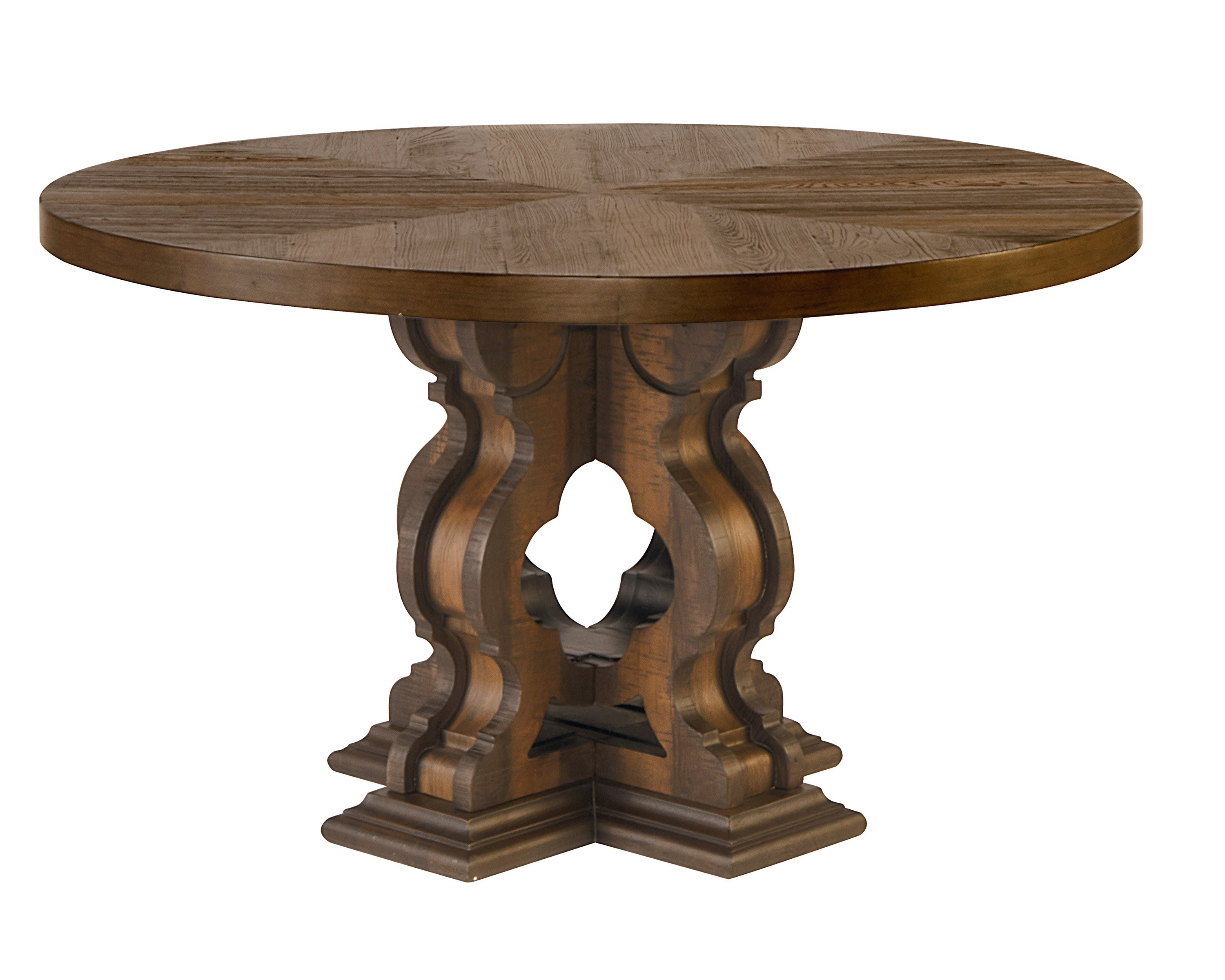 Round Dining Table – Magnolia Home Throughout Best And Newest Magnolia Home Breakfast Round Black Dining Tables (Image 18 of 20)
