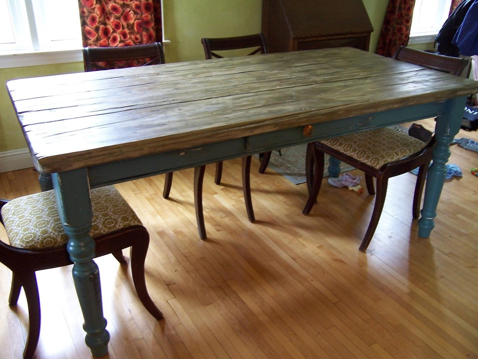 Rustic Farm Dining Tables | Table Regarding Best And Newest Farm Dining Tables (Photo 14 of 20)