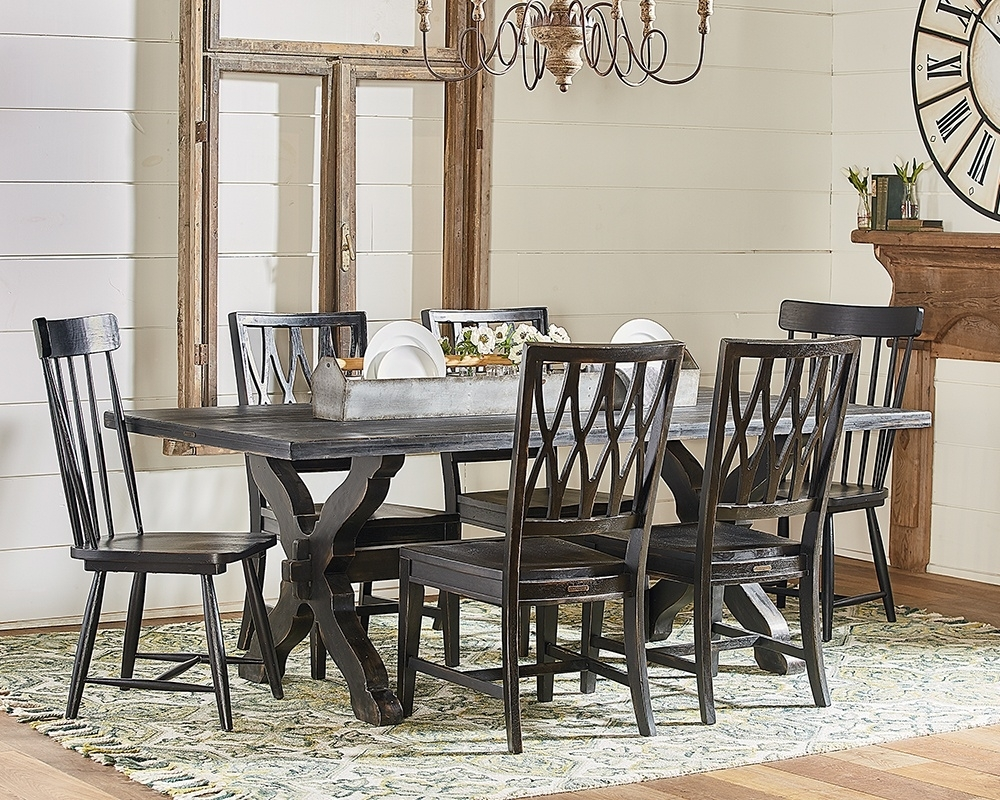 Sawbuck + Camden – Magnolia Home Pertaining To Best And Newest Magnolia Home Sawbuck Dining Tables (Image 18 of 20)