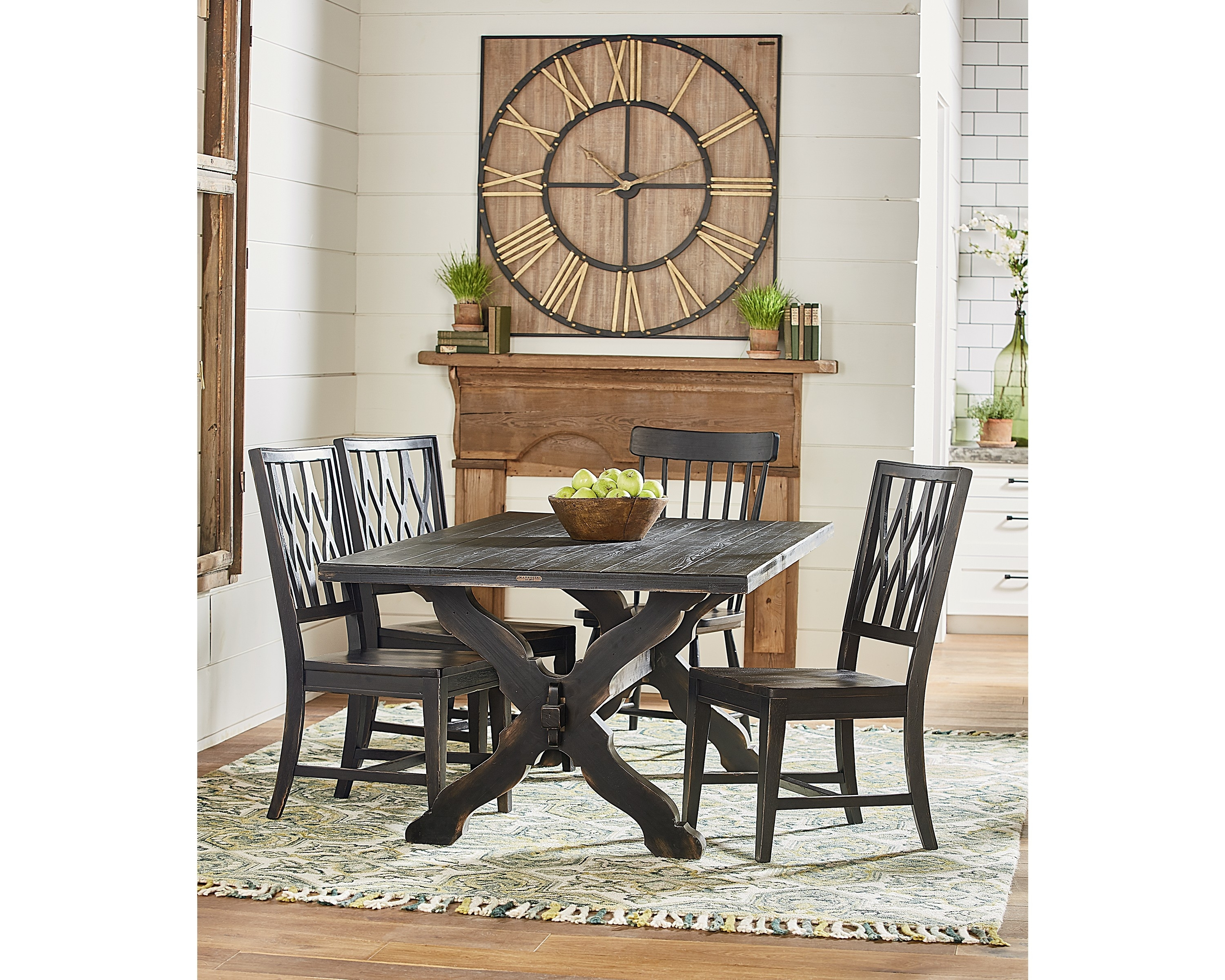 Sawbuck Dining Table – Magnolia Home With Newest Magnolia Home Sawbuck Dining Tables (Image 19 of 20)