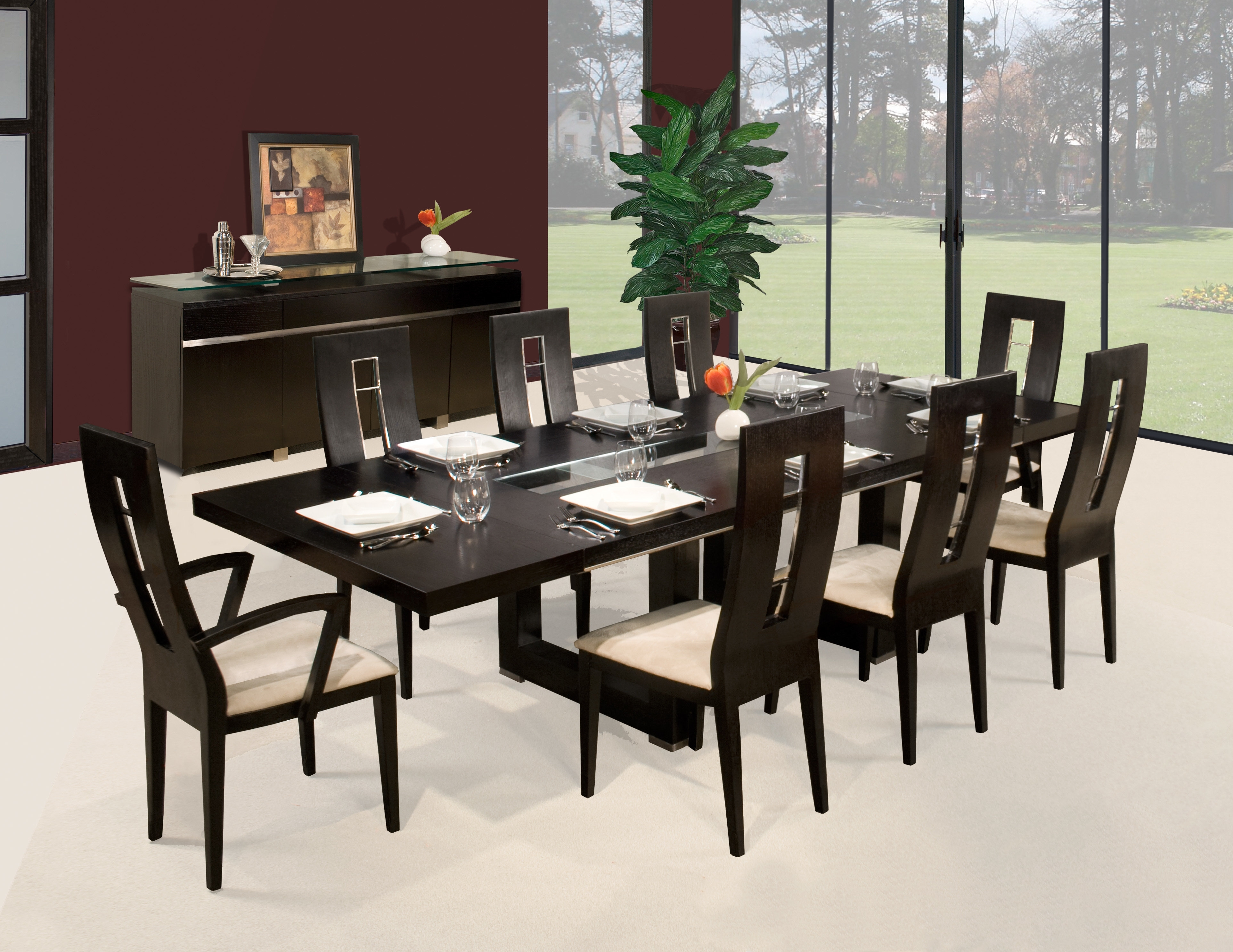 Sharelle Furnishings | Wayfair For Current Rocco 8 Piece Extension Counter Sets (View 12 of 20)