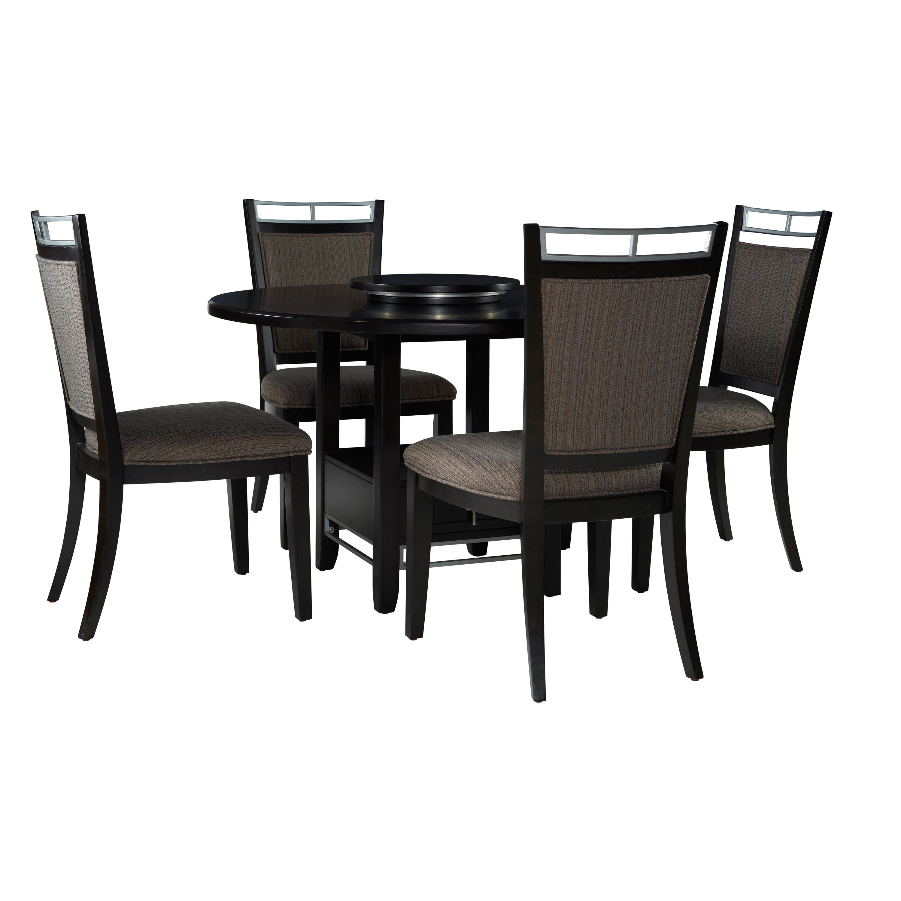 Shop Caden 5Pc Dining Set – Free Shipping Today – Overstock Inside 2017 Caden 5 Piece Round Dining Sets (Photo 3 of 20)