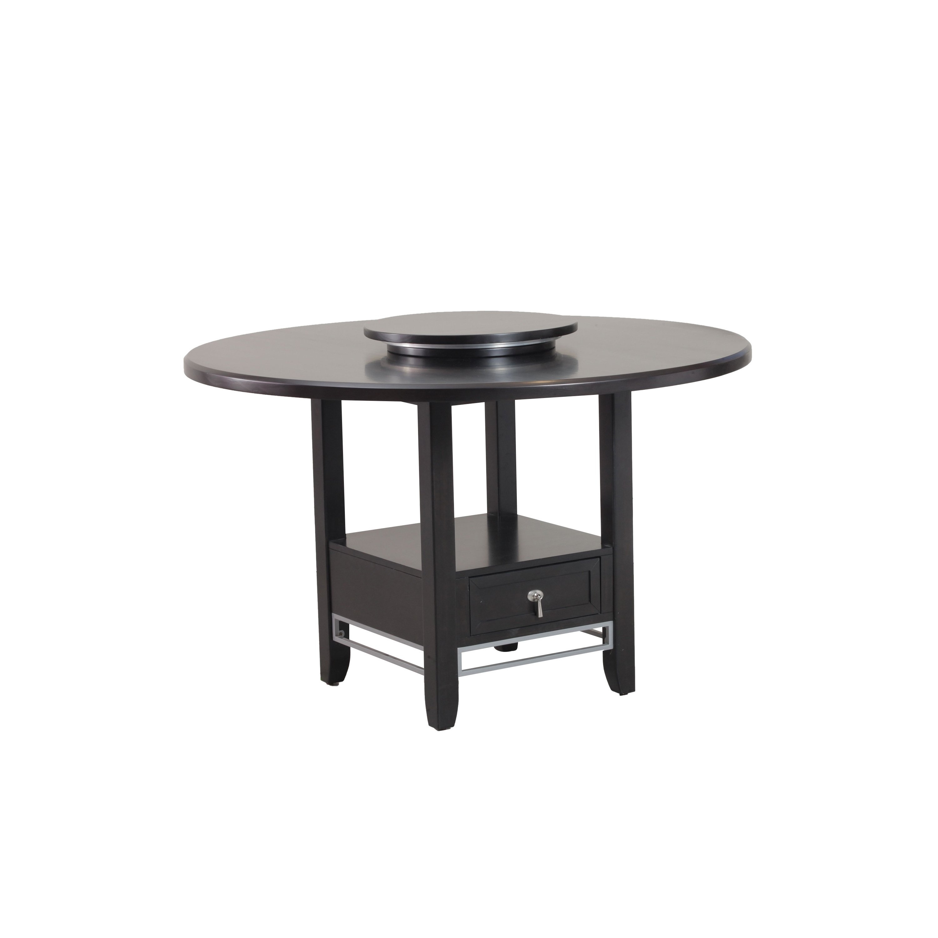 Shop Caden Dining Table – Cappuccino – Free Shipping Today For 2017 Caden Round Dining Tables (View 4 of 20)