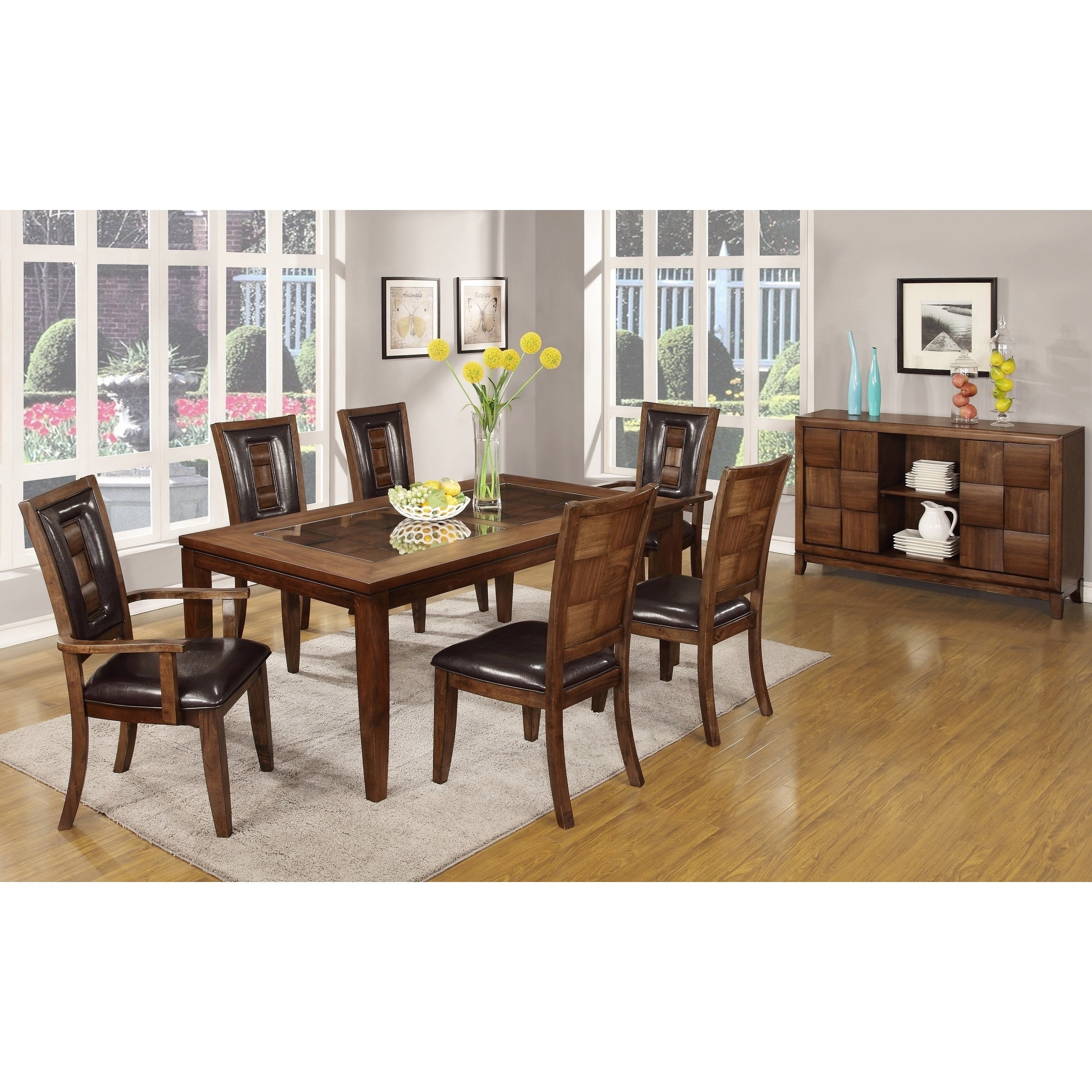 Featured Image of Parquet 6 Piece Dining Sets