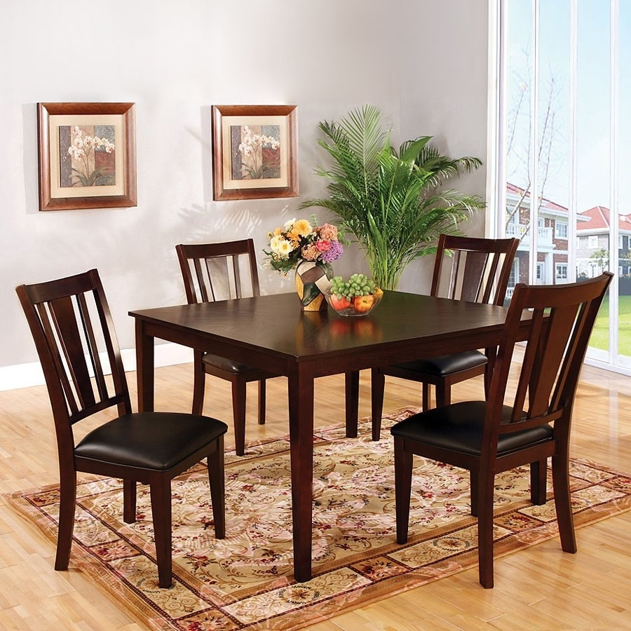 Shop Dining Sets At Lowes Throughout 2017 Kirsten 6 Piece Dining Sets (Image 17 of 20)