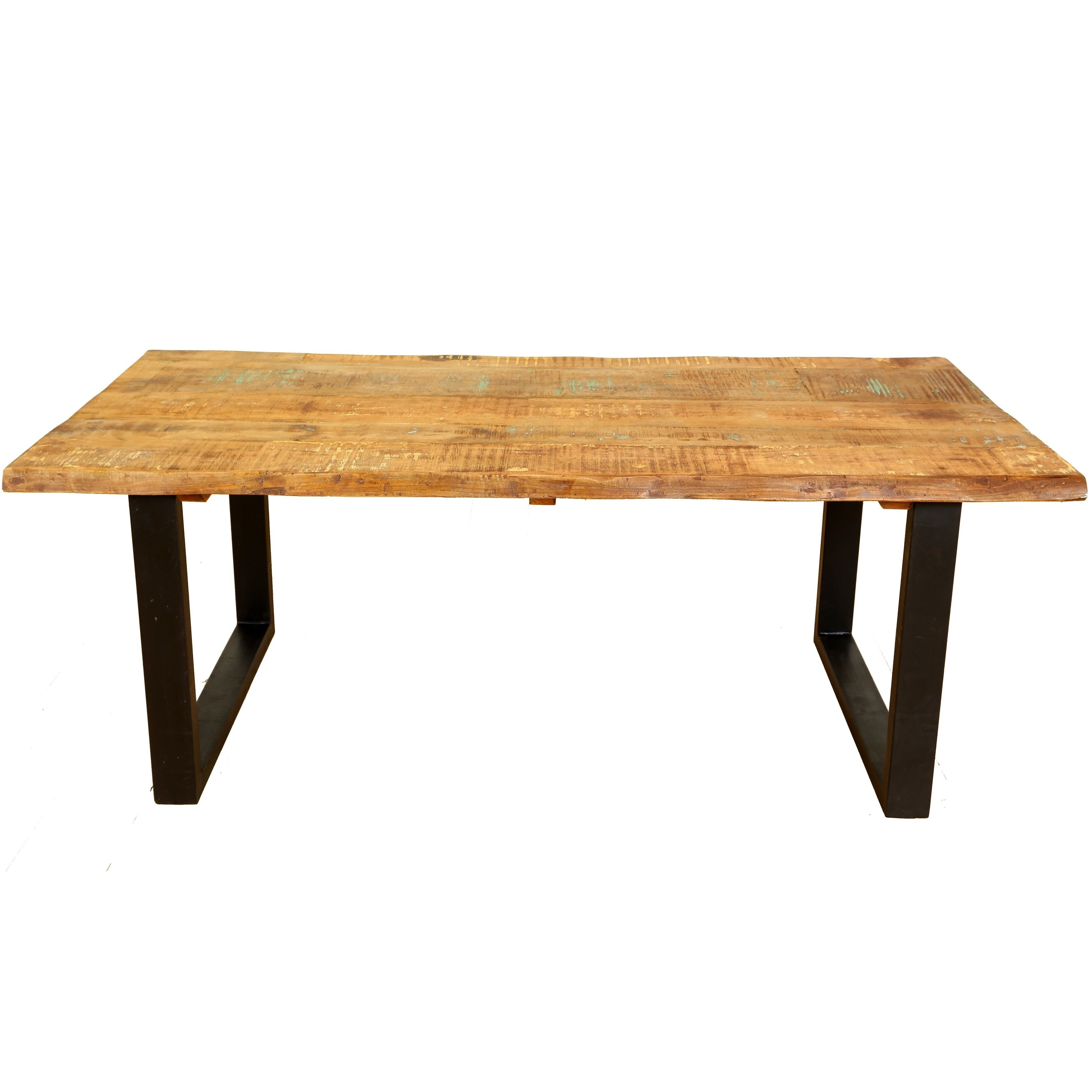 Shop Handmade Wanderloot Distressed Paint Mango And Reclaimed Wood With Regard To Most Recently Released Portland 78 Inch Dining Tables (Image 17 of 20)