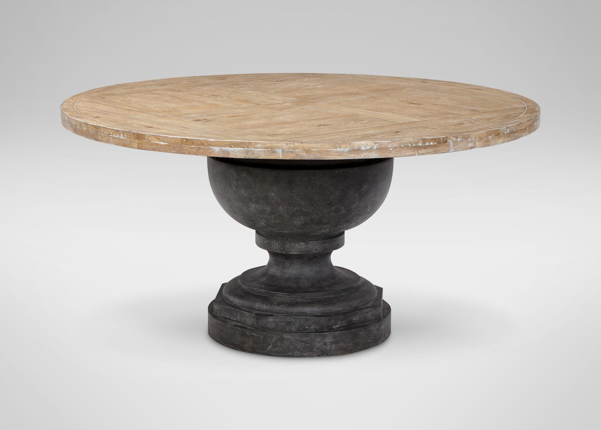 Shop New Dining Room Furniture | What's New | Ethan Allen Inside Most Up To Date Helms Round Dining Tables (View 14 of 20)