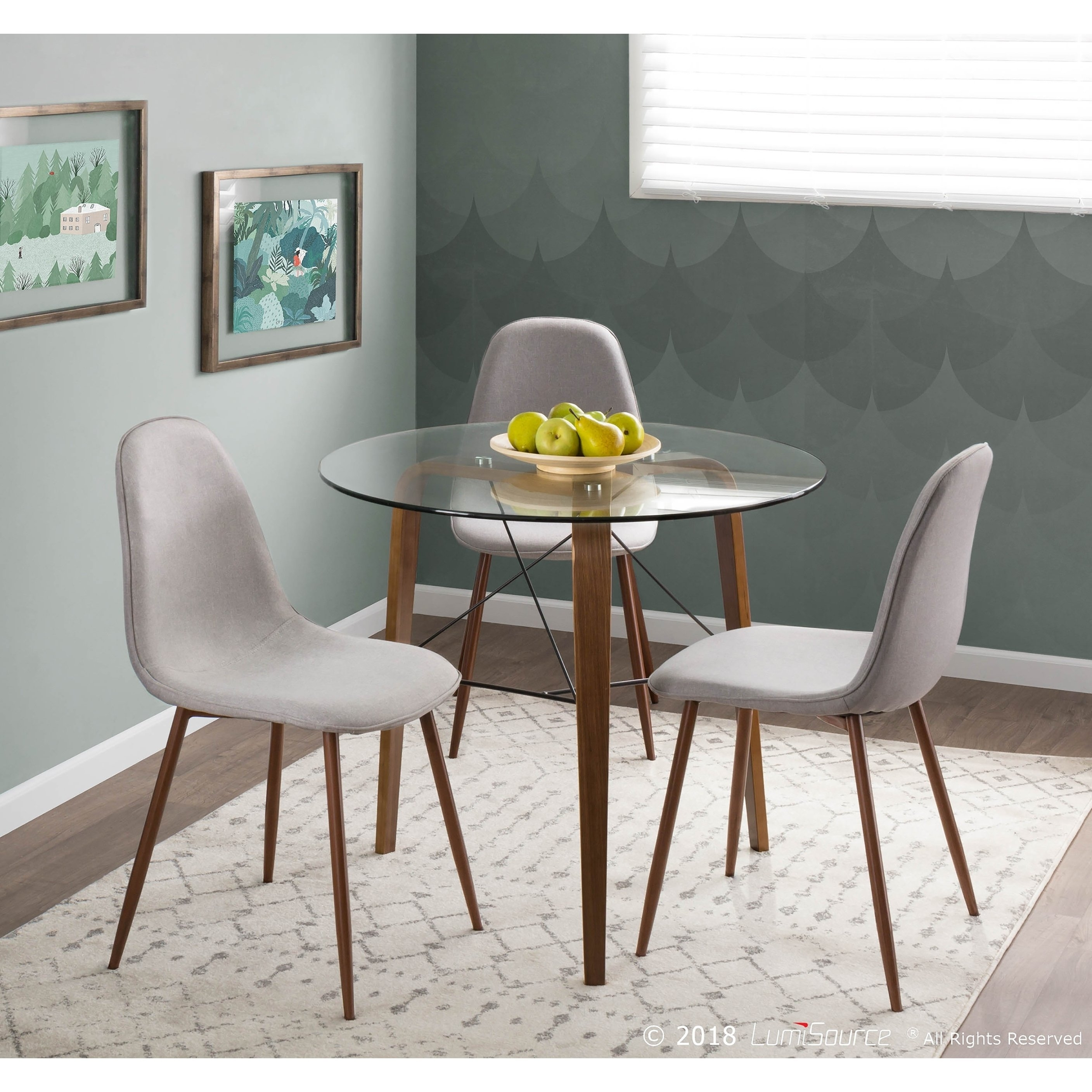 Dining Room Accent Pieces: Caden 6 Piece Dining Sets With Upholstered Side Chair