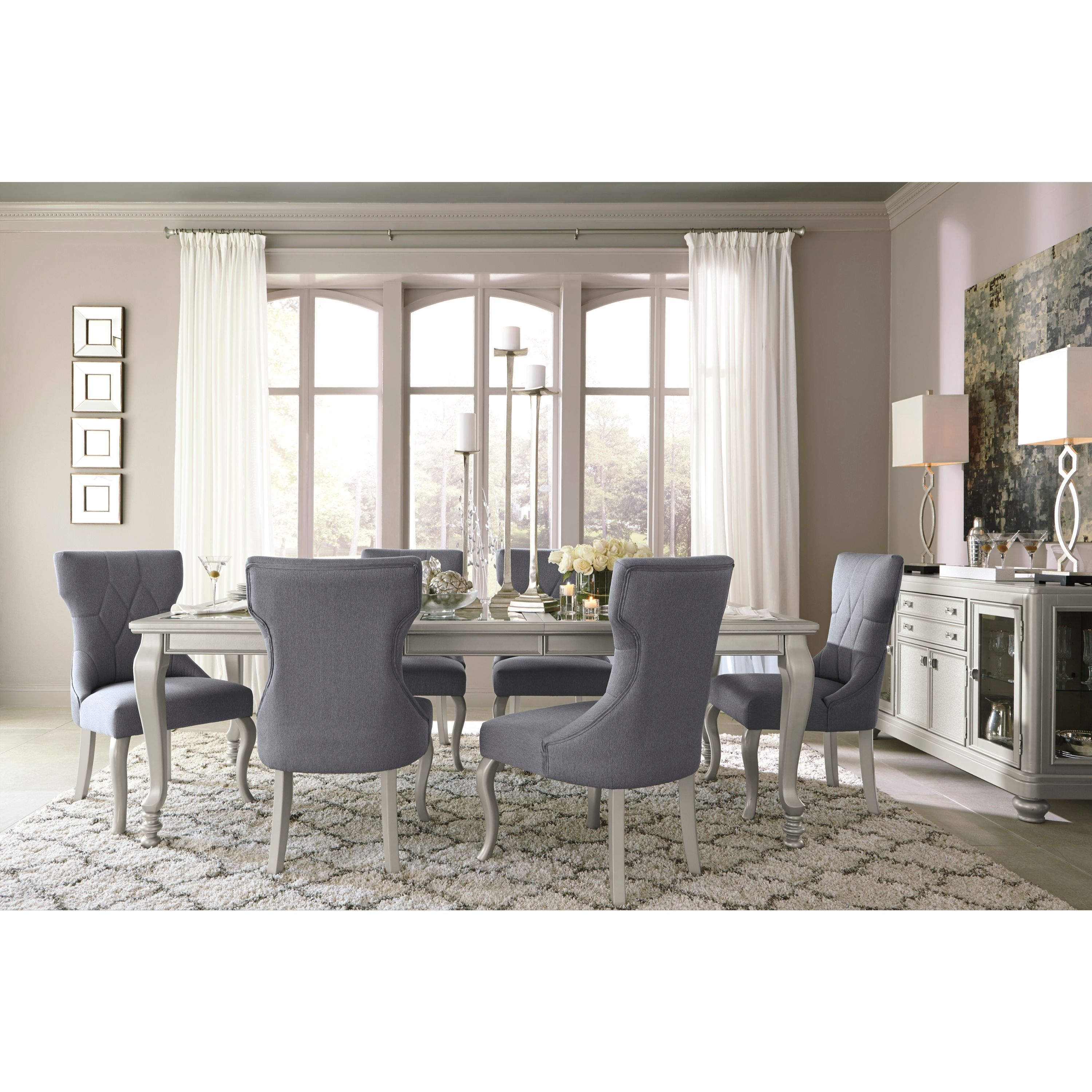 Shop Signature Designashley Coralayne Silver Dining Room Table For 2017 Cora 5 Piece Dining Sets (Image 18 of 20)