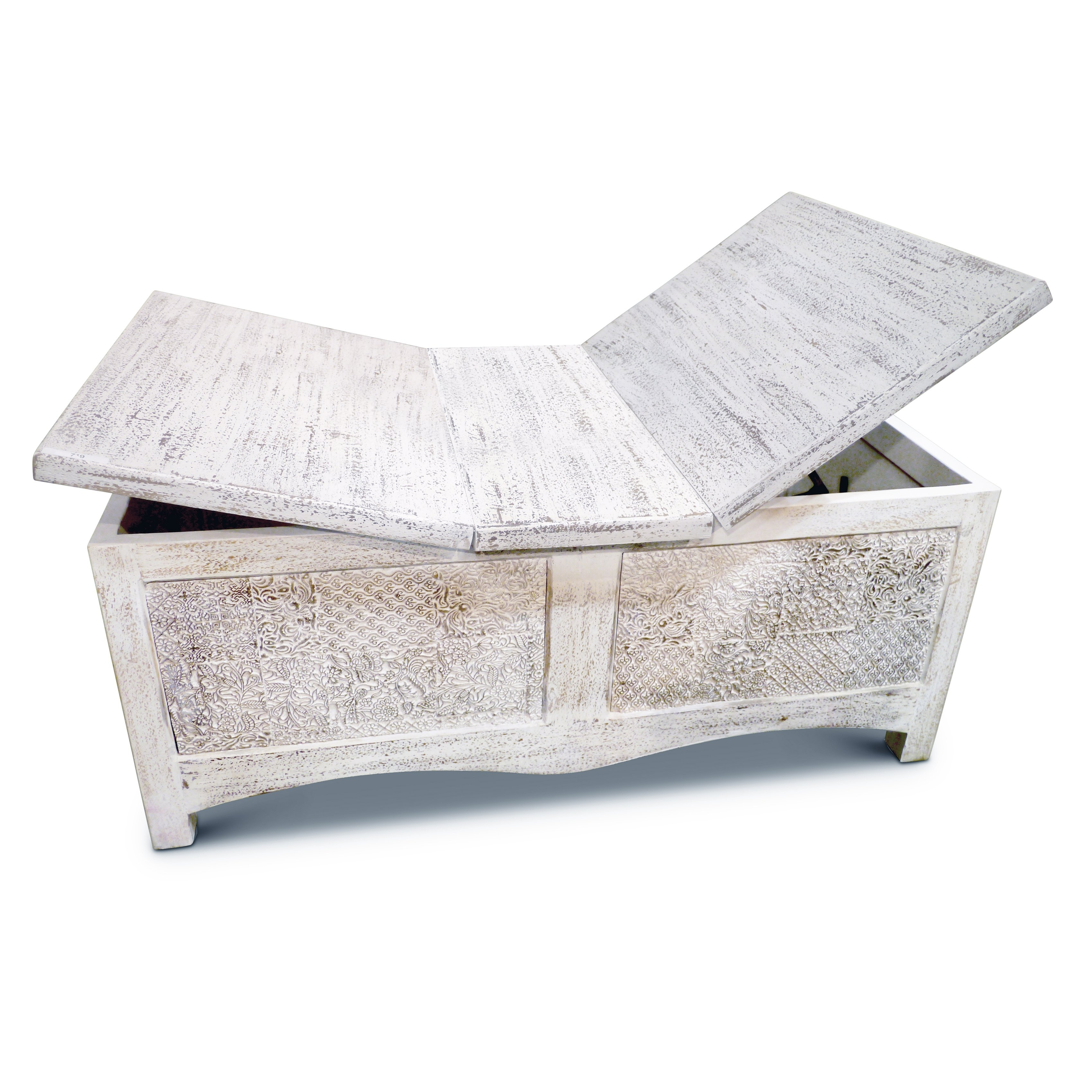 Shop Teagan Hand Carved Storage Trunkgreyson Living – On Sale Inside Recent Teagan Extension Dining Tables (View 18 of 20)