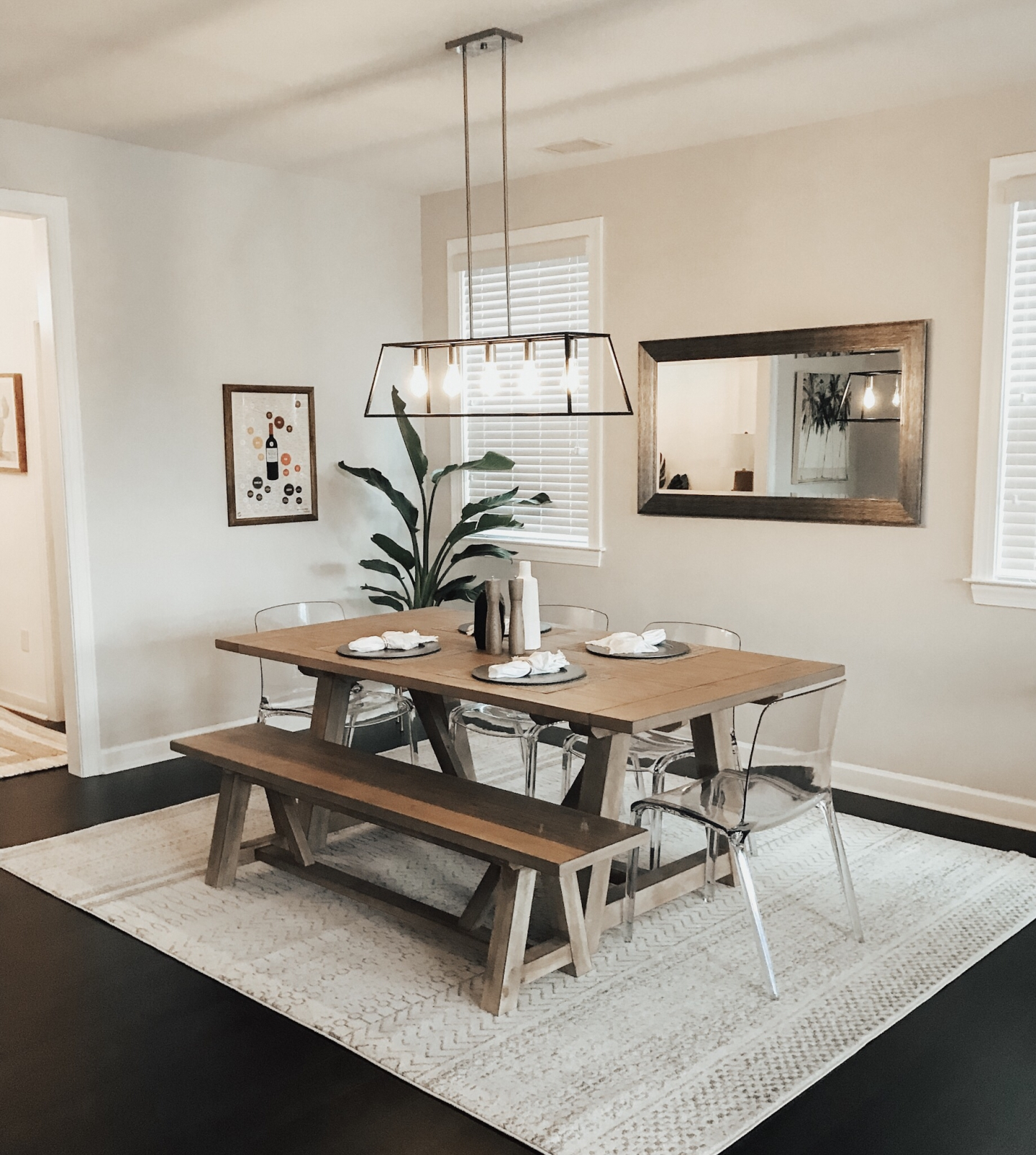 Shop The Style: Modern Farmhouse Dining Tables – Kaitlyn H (Image 16 of 20)