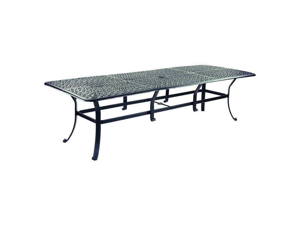 """Sienna 42"""" X 108"""" Rectangular Dining Table – Hauser's Patio Within Most Recent Outdoor Sienna Dining Tables (Image 11 of 20)"""