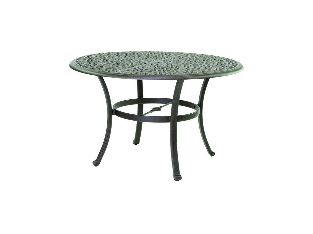 """Sienna 48"""" Round Dining Table – Hauser's Patio With Regard To Current Outdoor Sienna Dining Tables (Image 12 of 20)"""