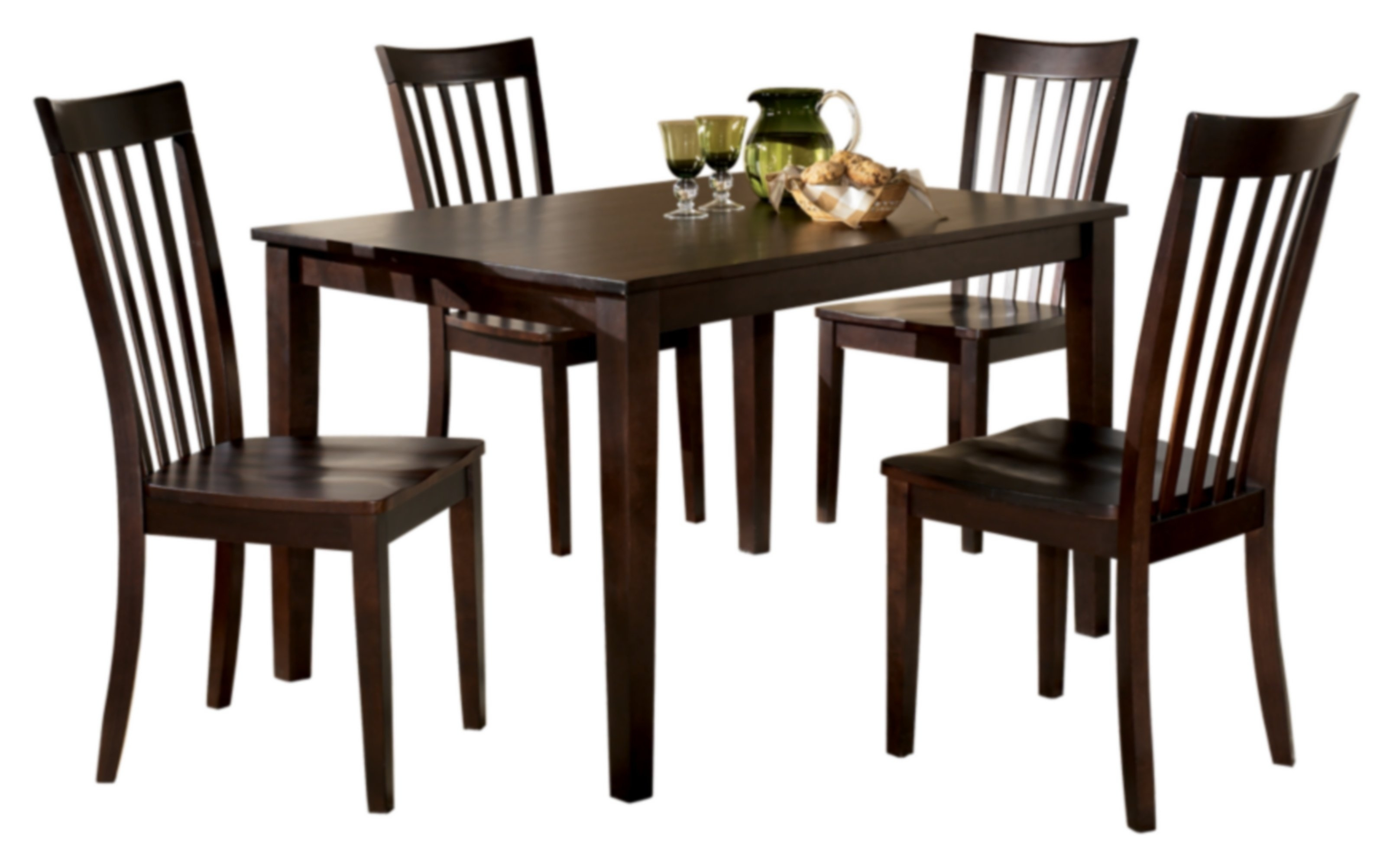 Signature Designashley Hyland 5 Piece Dinette Set & Reviews With Most Recently Released Hyland 5 Piece Counter Sets With Bench (View 5 of 20)