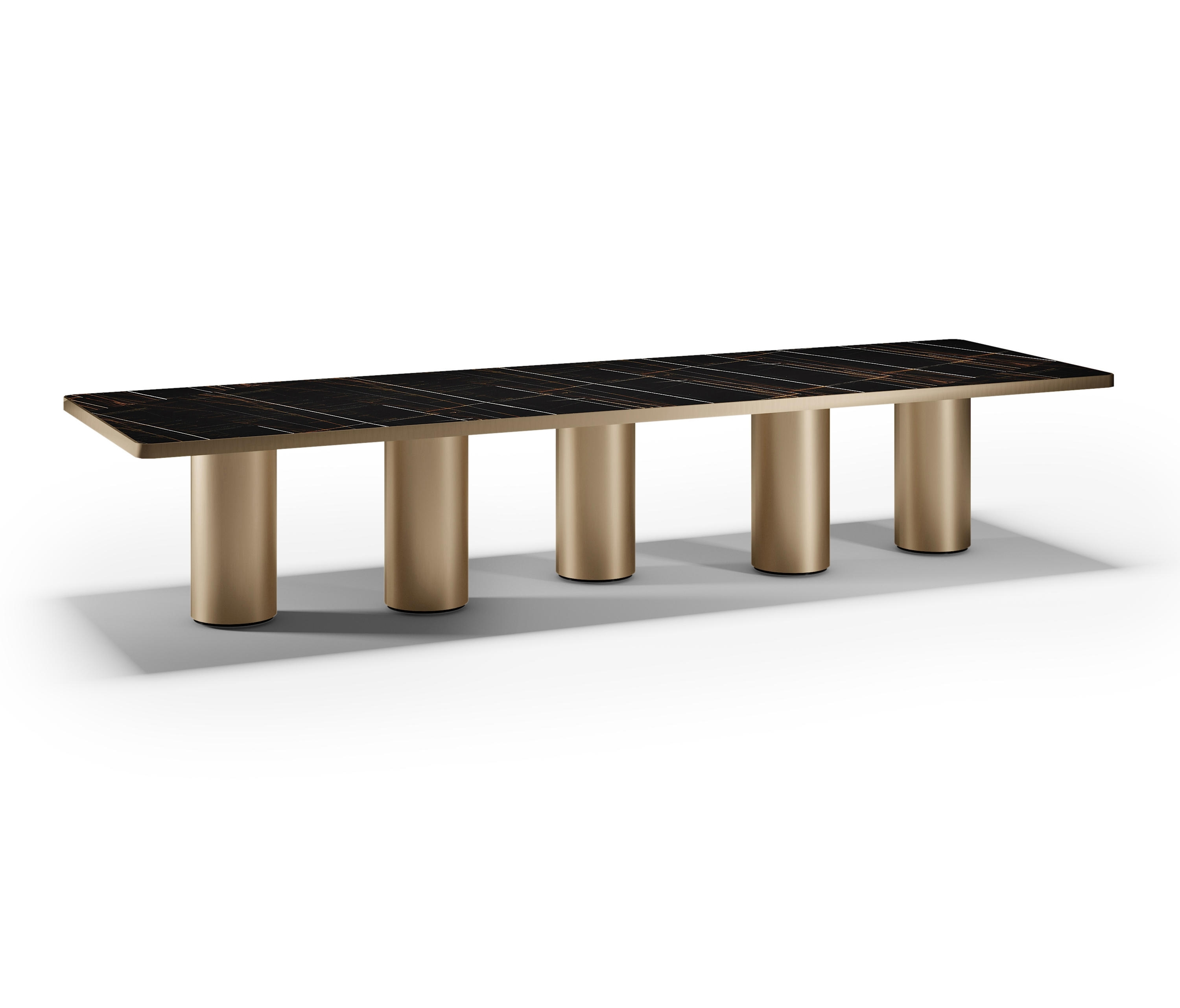 Signore Degli Anelli 72 Steel – Dining Tables From Reflex | Architonic For Most Recently Released Palazzo Rectangle Dining Tables (View 20 of 20)