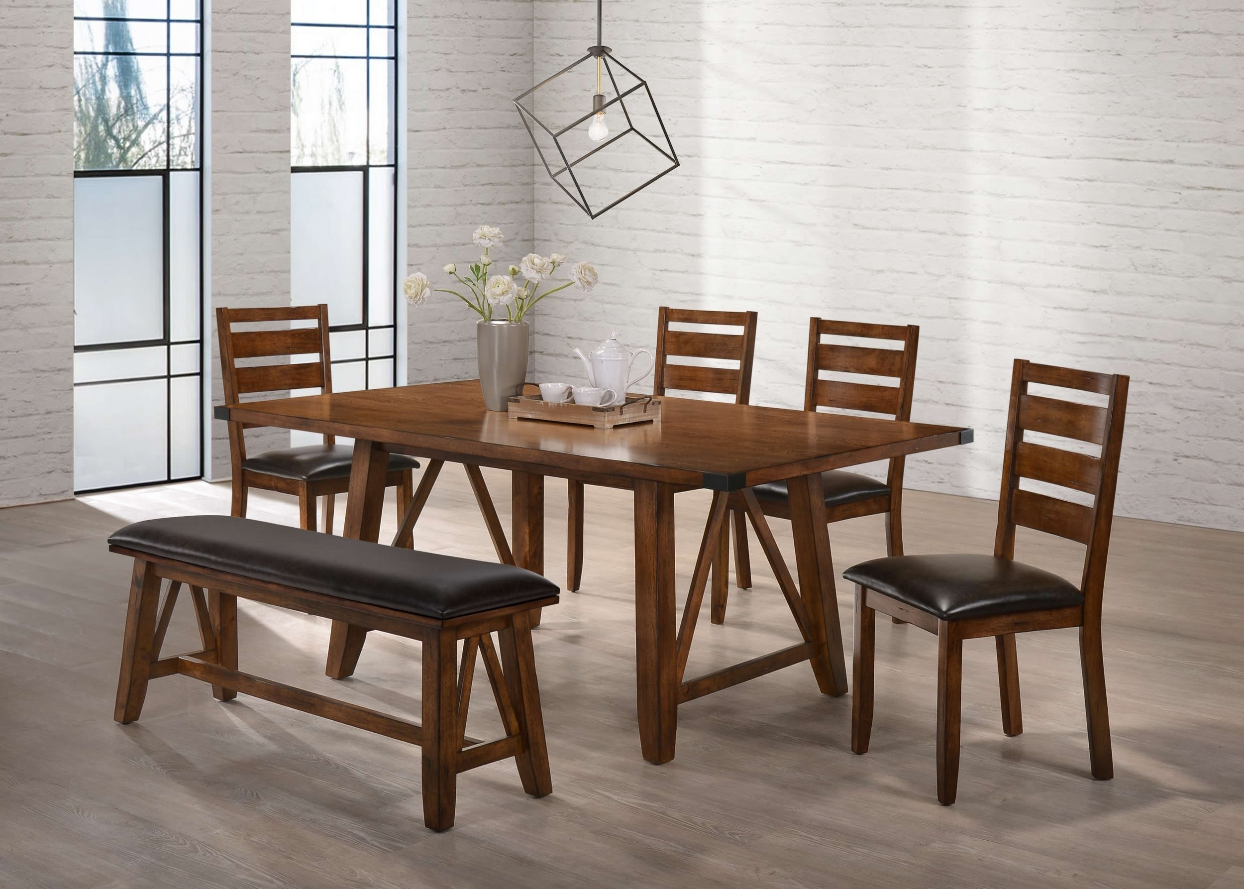 Simmons Upholstery 5022 72, 5022 51, 5022 52, 5022 52 Logan Valsp With Regard To Newest Logan 6 Piece Dining Sets (Image 15 of 20)