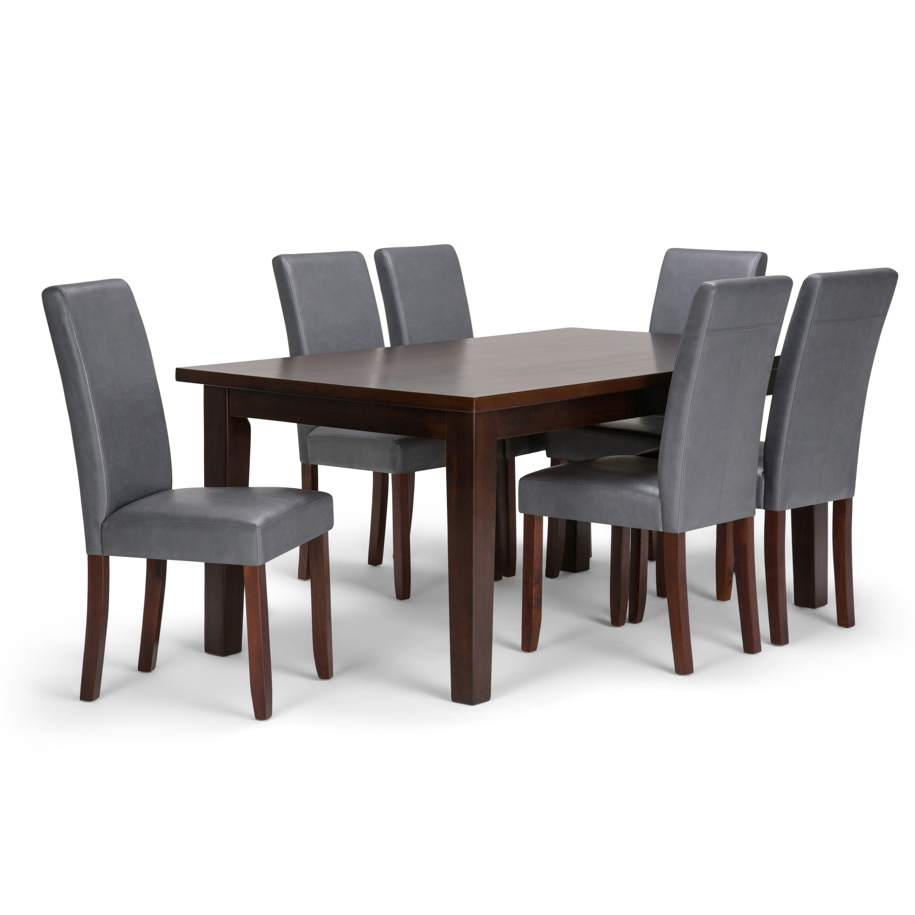 Simpli Home Acadian 7 Piece Dining Set | Wayfair Intended For 2017 Walden 7 Piece Extension Dining Sets (Image 9 of 20)