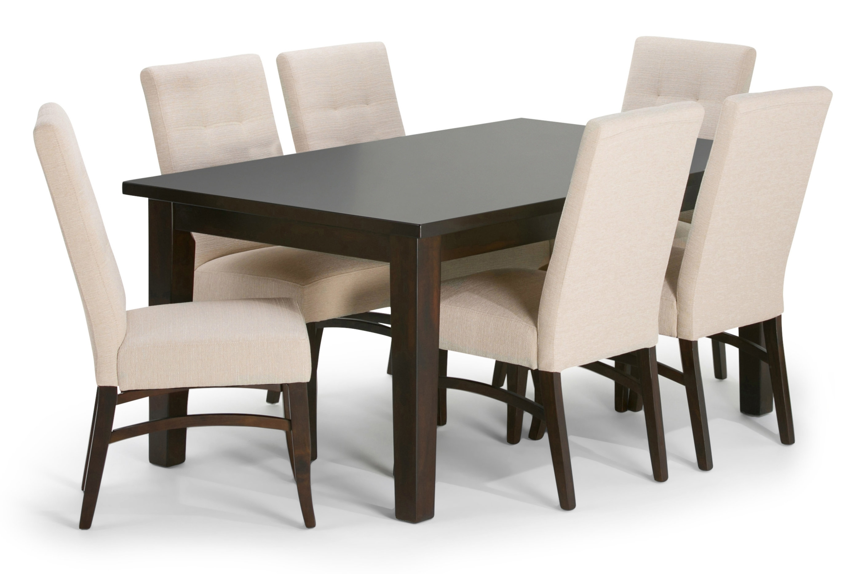 Simpli Home Ezra 7 Piece Dining Set | Wayfair Intended For Most Recently Released Walden 7 Piece Extension Dining Sets (Image 13 of 20)