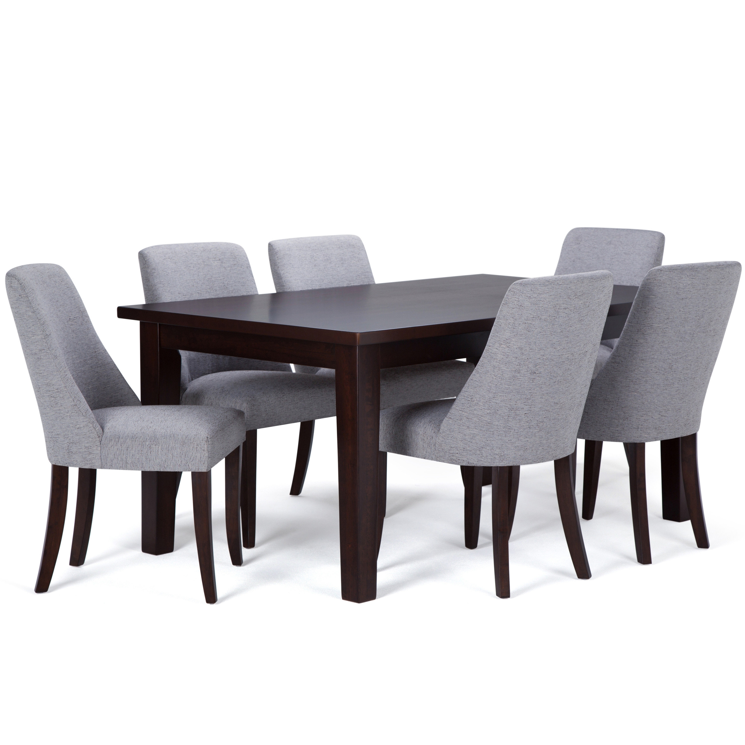 Simpli Home Walden 7 Piece Dining Set | Wayfair For Recent Walden 7 Piece Extension Dining Sets (Image 14 of 20)