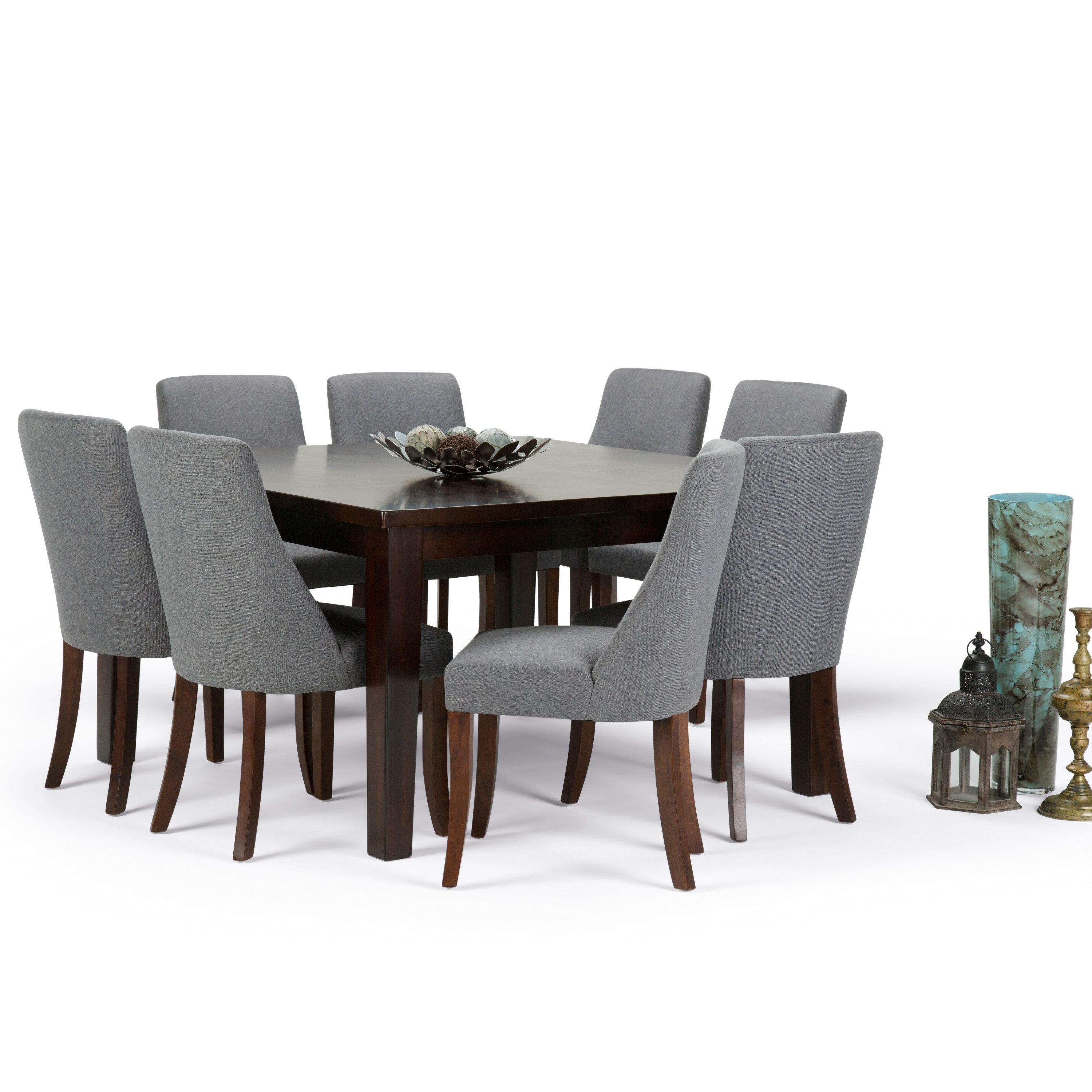 Simpli Home Walden 9 Piece Dining Set | Wayfair Intended For Most Current Walden 7 Piece Extension Dining Sets (Image 15 of 20)