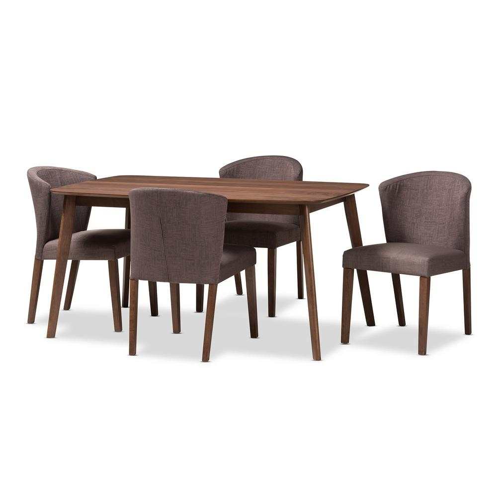 Simpli Home Walden 9 Piece Java Brown Dining Set Axcds9Wa G – The Inside Newest Walden 9 Piece Extension Dining Sets (Image 14 of 20)