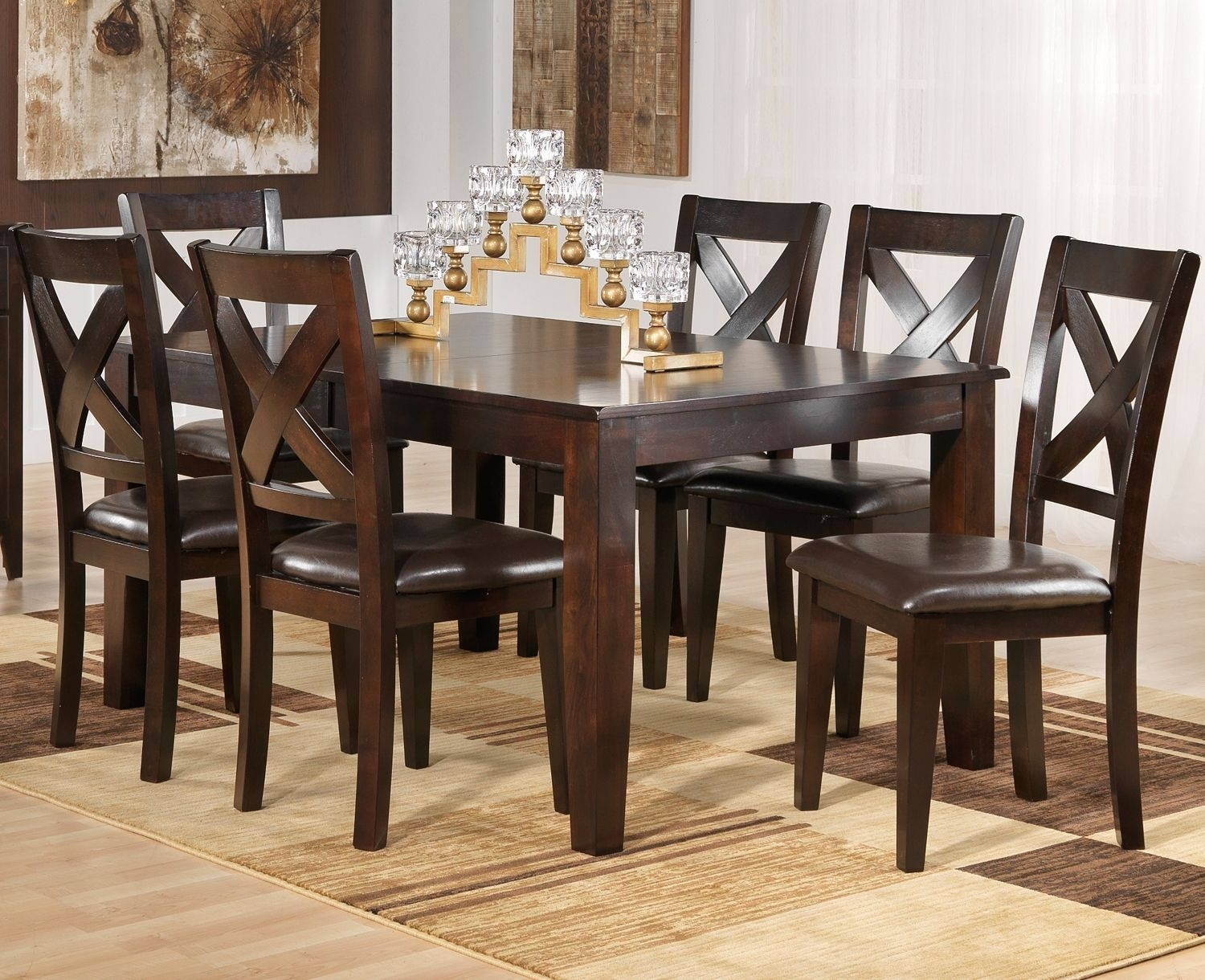 Featured Image of Leon 7 Piece Dining Sets