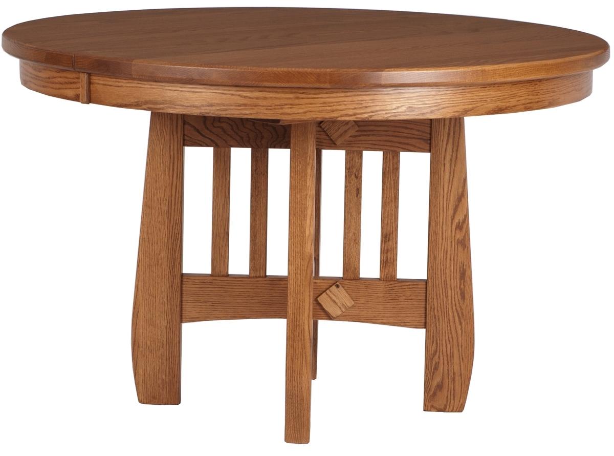 Sonora Round Table | Erik Organic In Recent Craftsman Round Dining Tables (Image 17 of 20)
