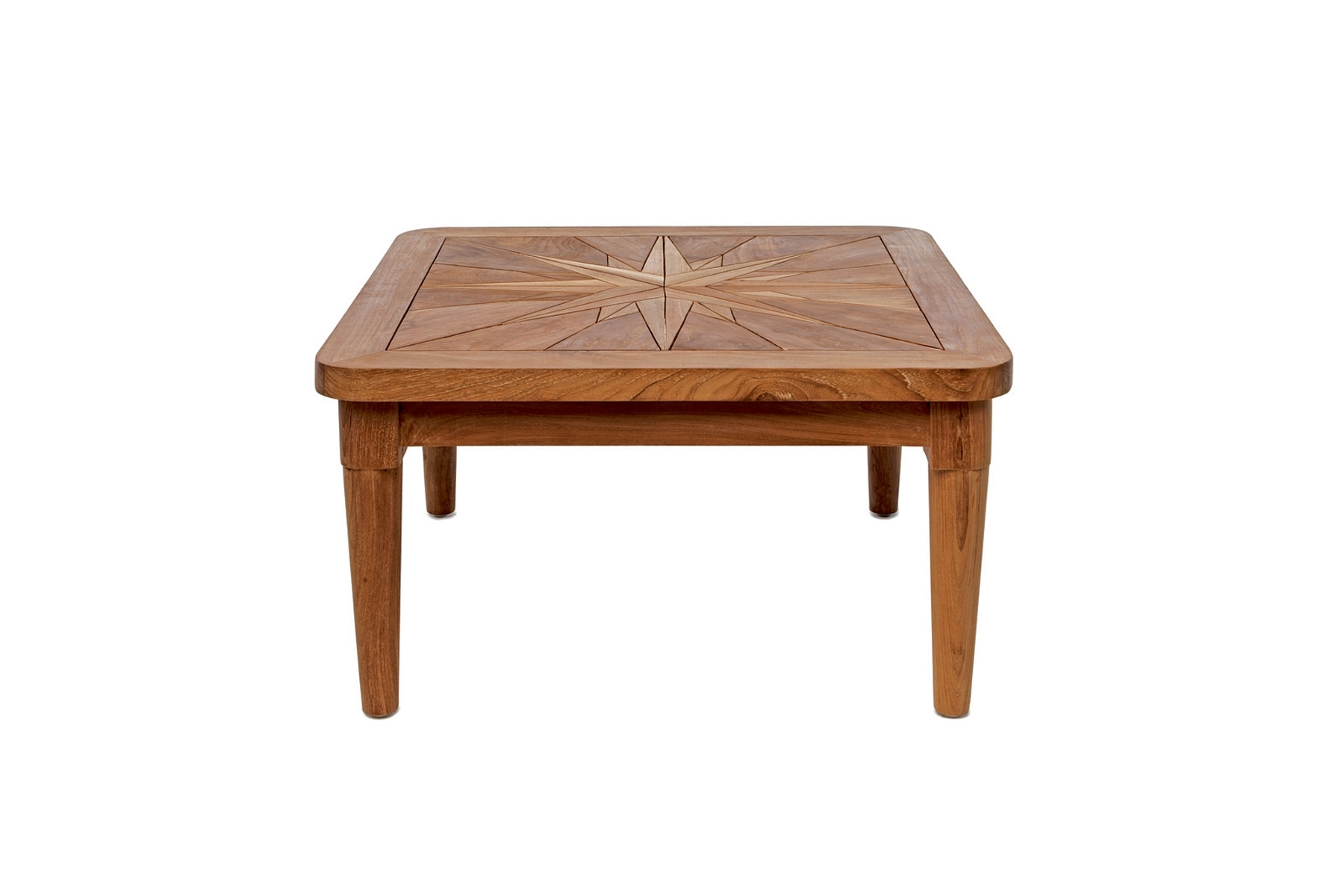 Square Side Table Mistral – Saint Laurent – Il Giardino Di Legno Regarding Most Popular Laurent Rectangle Dining Tables (Image 19 of 20)