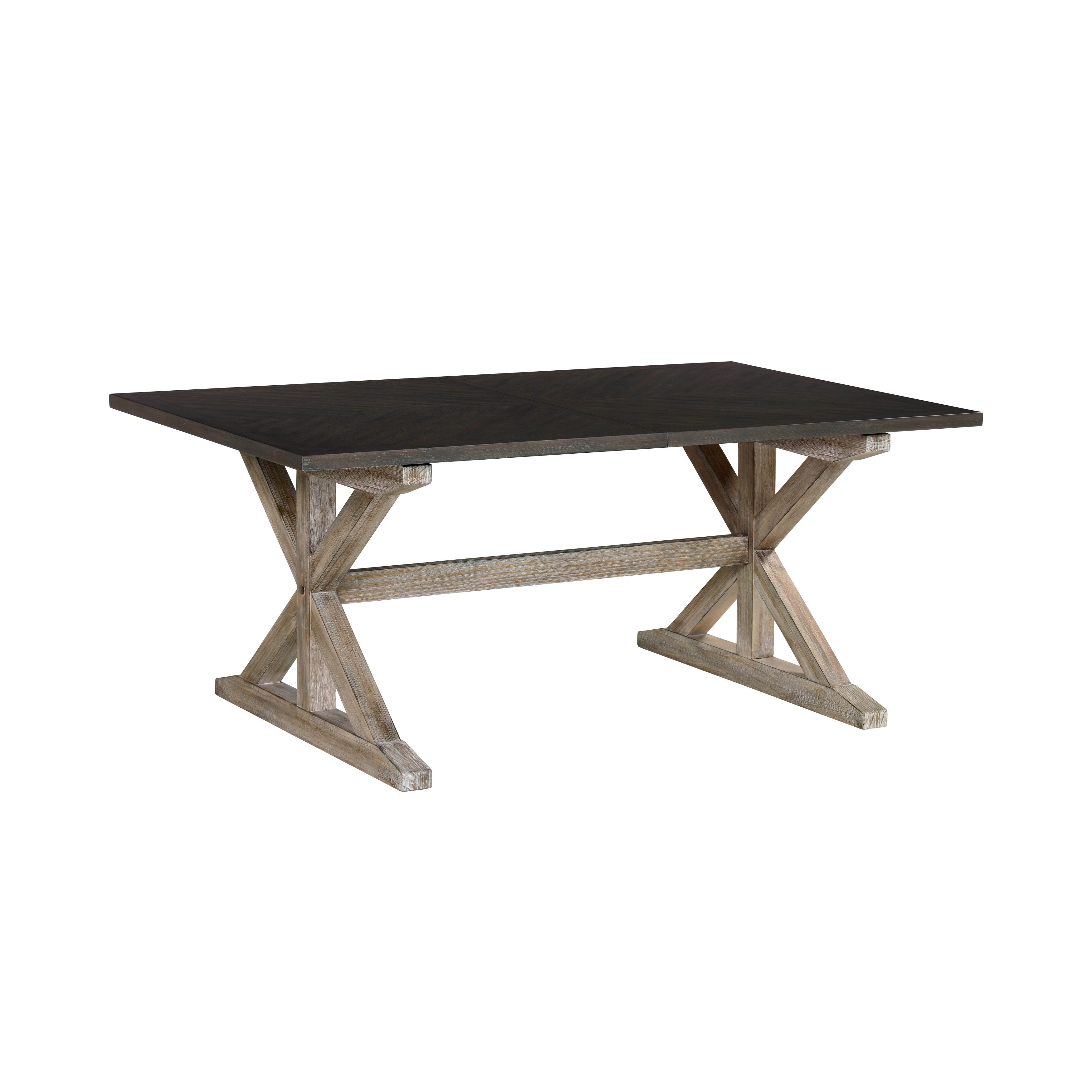 Standard Furniture Jefferson Brown Dining Table | The Classy Home Within 2017 Jefferson Extension Round Dining Tables (Image 17 of 20)