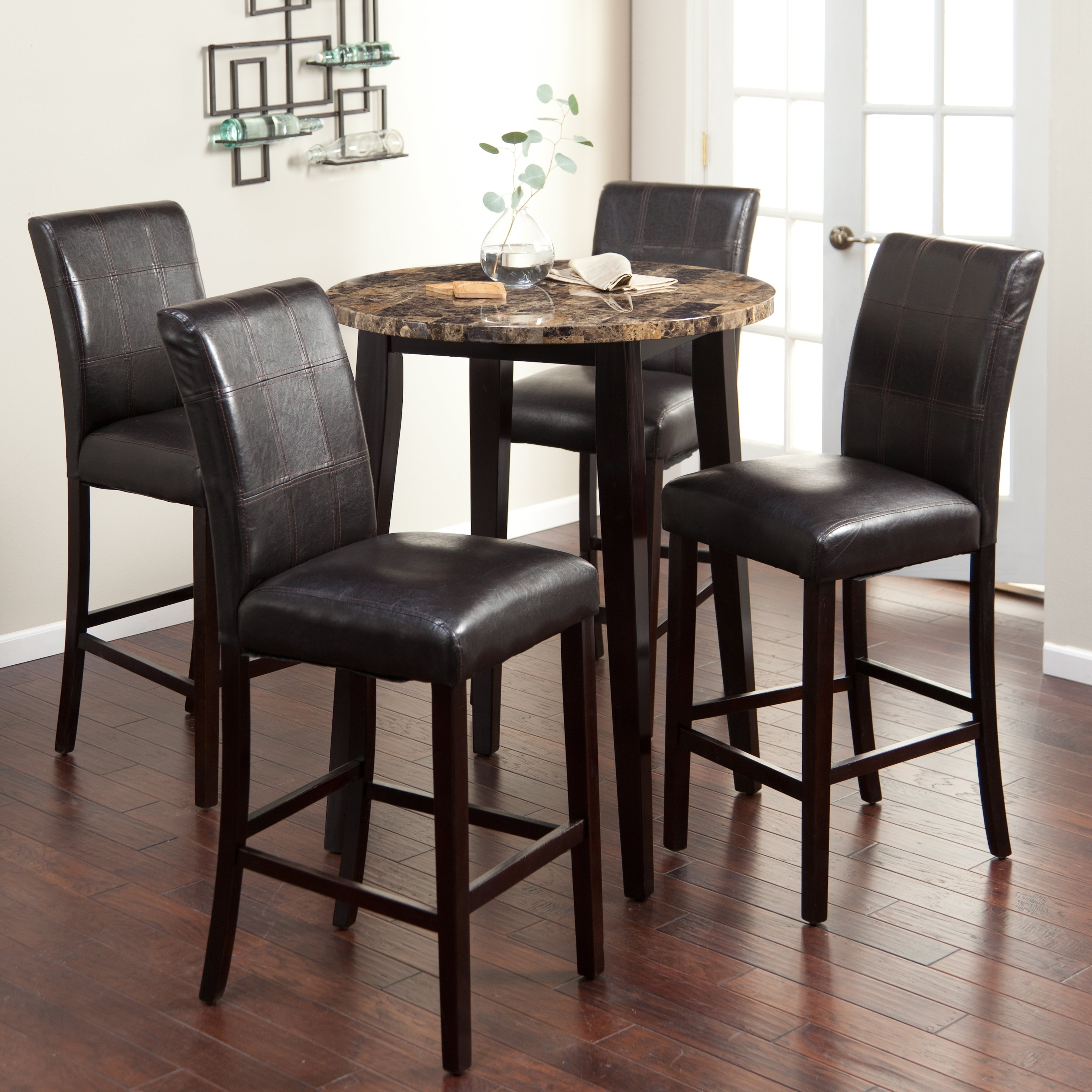 Stylish Pub Tables And Chairs For You – Blogbeen With Best And Newest Palazzo 3 Piece Dining Table Sets (Image 20 of 20)