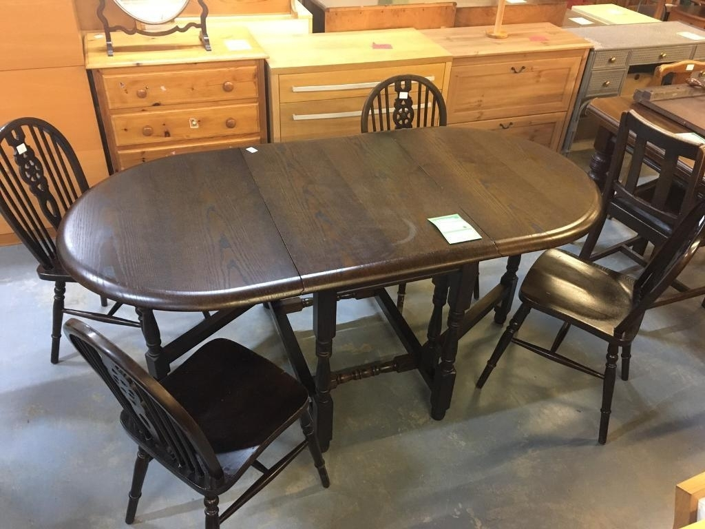 Table + 4 Chairs (Ref F.228) | In Norwood, London | Gumtree For Current Norwood Rectangle Extension Dining Tables (Photo 15 of 20)